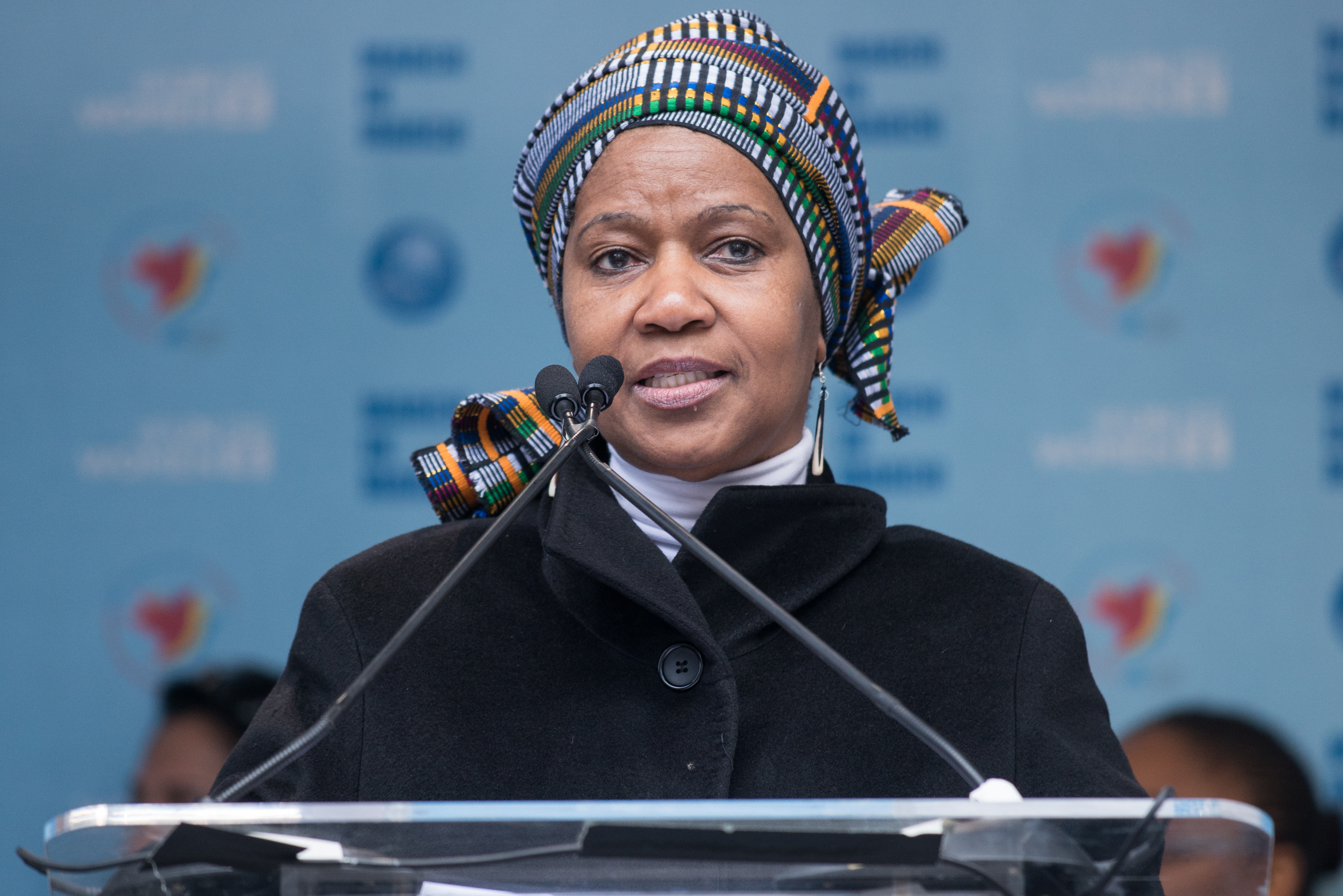 Assistant Secretary General Phumzile Mlambo-Ngcuka in New York City, on March 8, 2015.