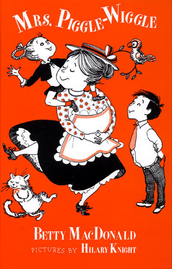 A 1957 edition of the first Mrs. Piggle-Wiggle book