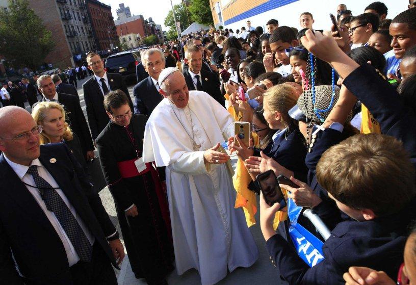 Pope Francis US Visit Harlem