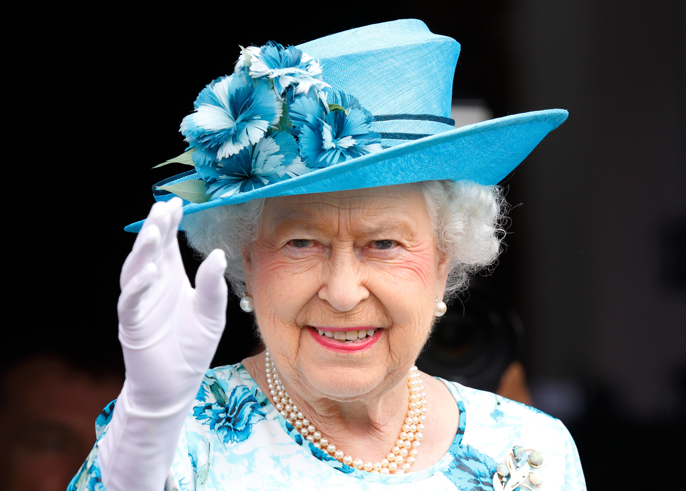 Queen Elizabeth II during a day of engagements in Barking, England on July 16, 2015.