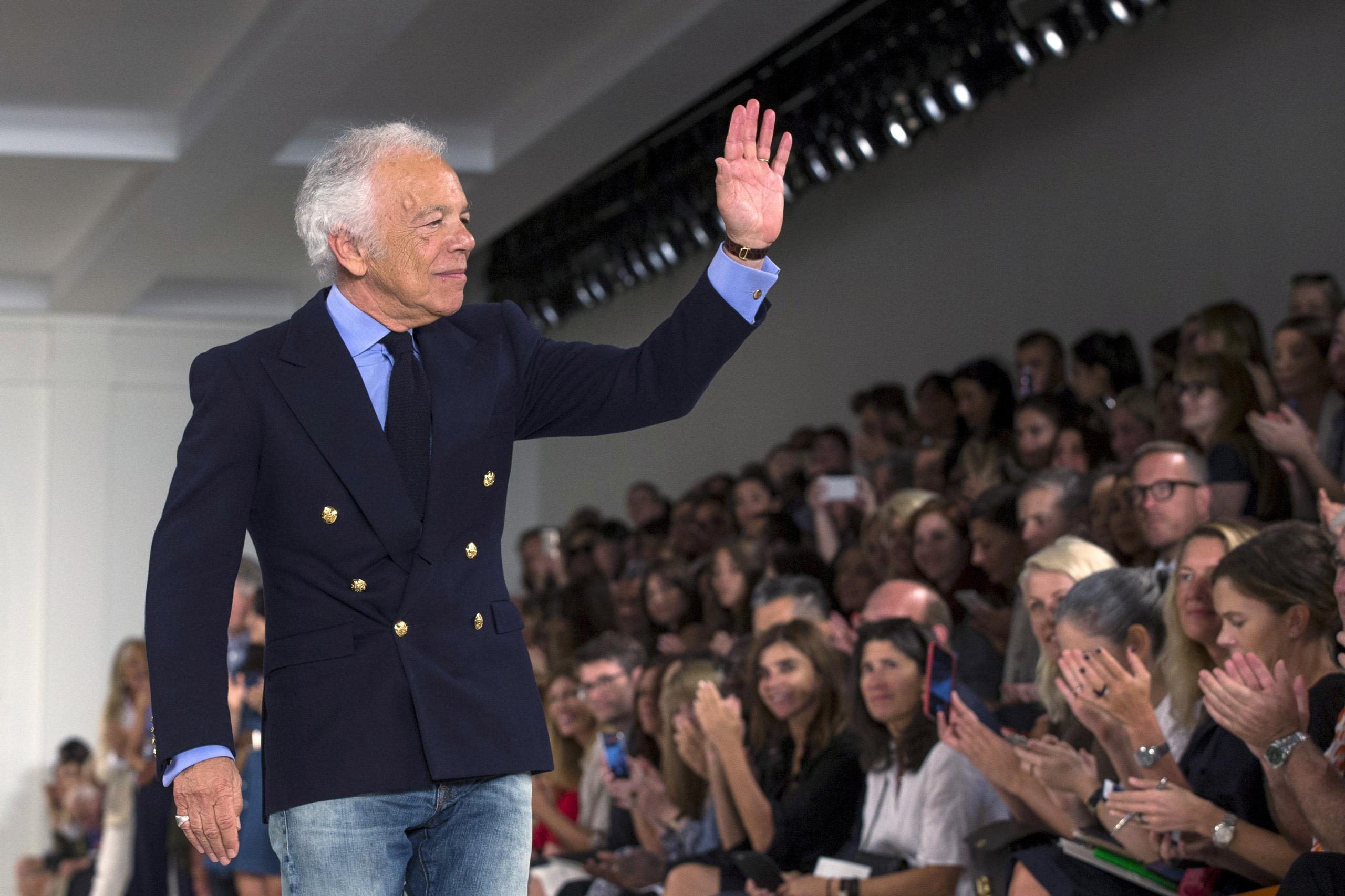 Designer Ralph Lauren.