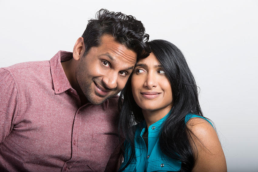 Ravi and Geeta Patel