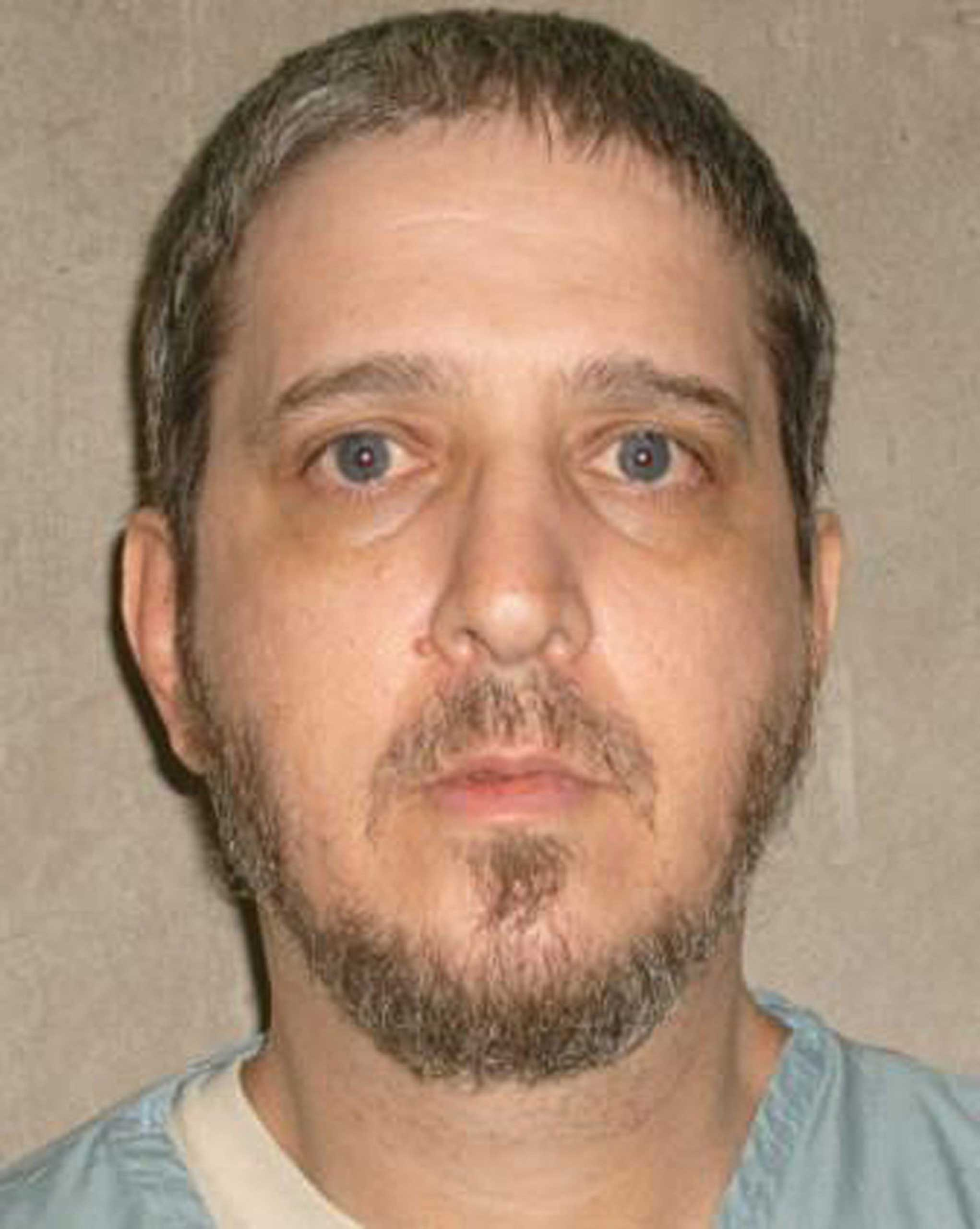 Death row inmate Richard E. Glossip.