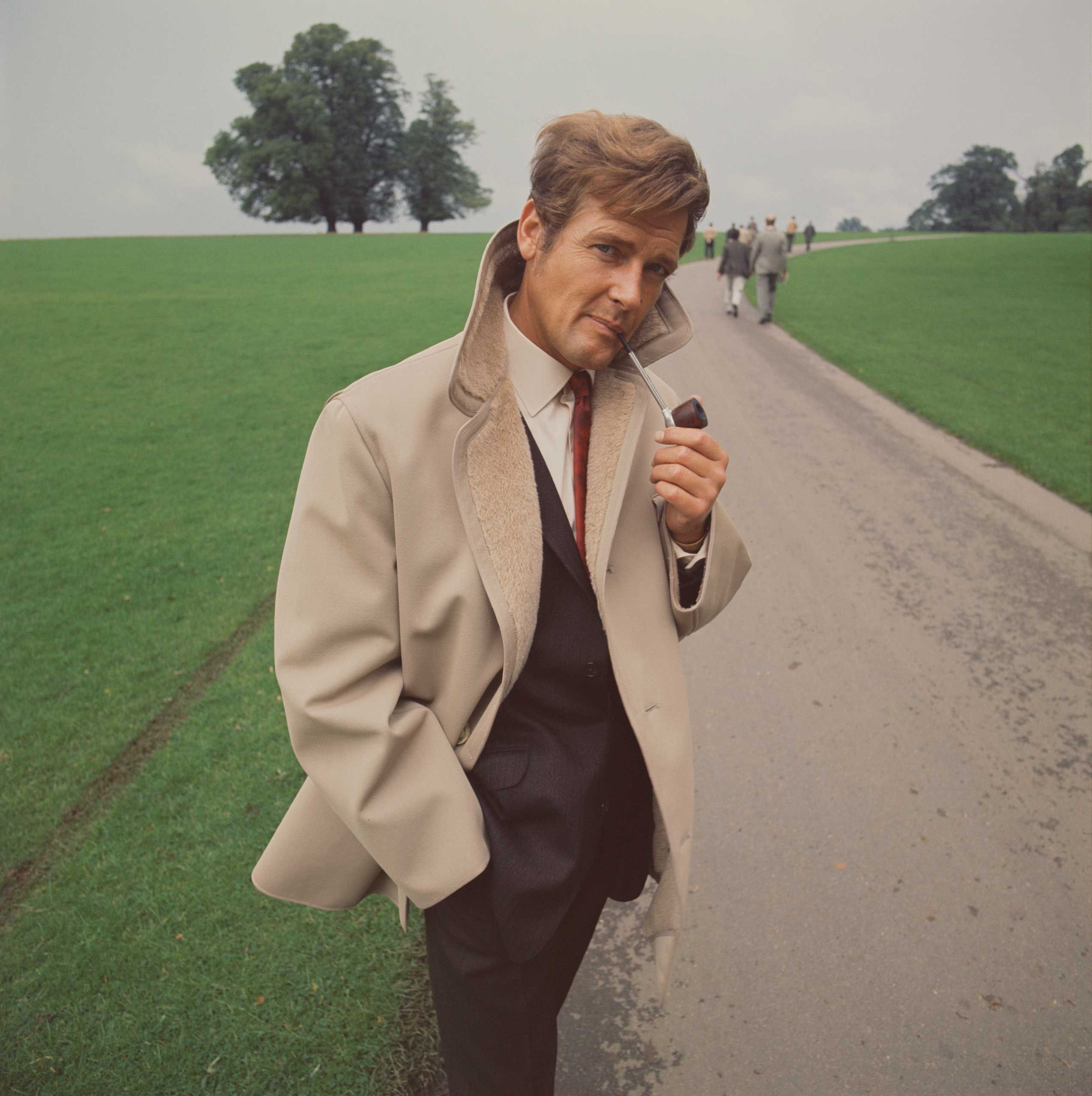<b>Roger Moore</b>Photographed for TV Times in 1968,  just before the final series of <i>The Saint</i>.