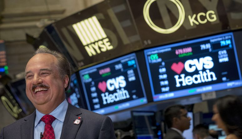 CVS Health CEO Larry Merlo.