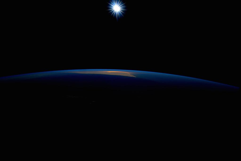 Day 161. Our sun, bright star. #GoodNight from @space_station! #YearInSpace  - via Twitter on Sept. 4, 2015
