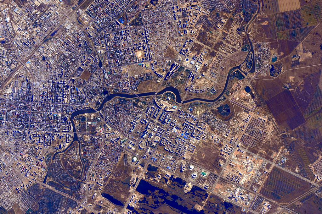 #GoodMorning #Kazakhstan! Good to have your native son, @AidynAimbetov onboard @Space_Station. He's doing great!  - via Twitter on Sept. 6, 2015