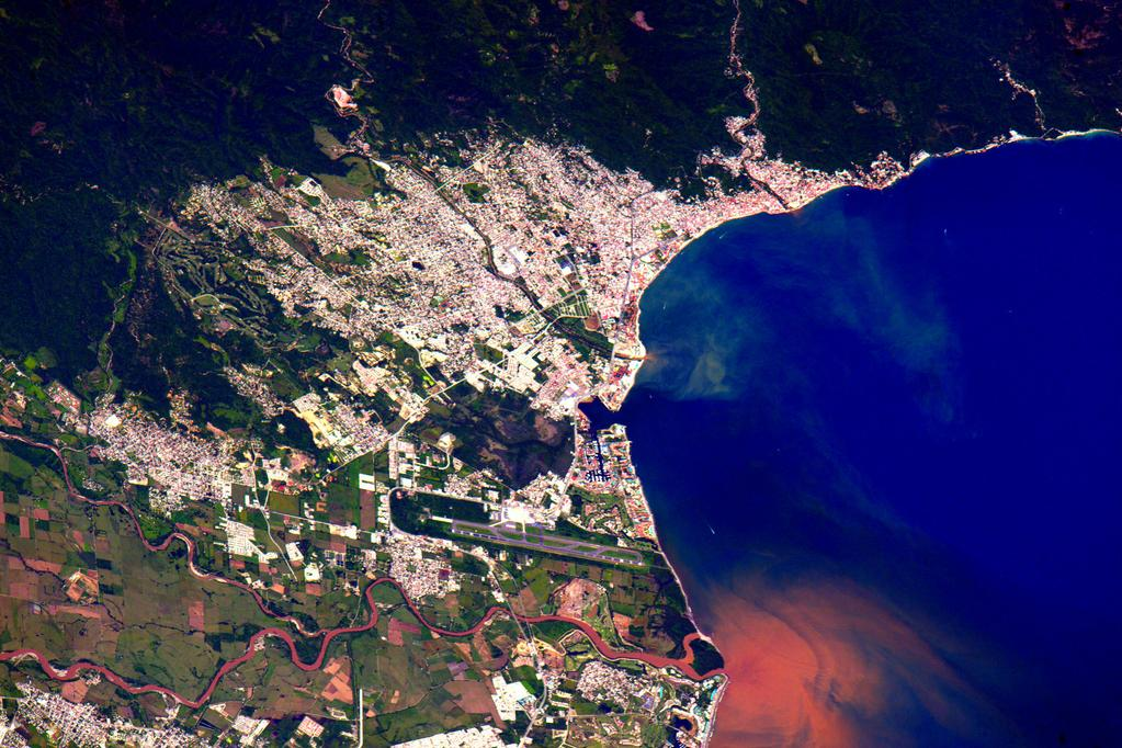 #HappySunday to my friends in #puertovallarta #Mexico! #YearInSpace  - via Twitter on Sept. 13, 2015