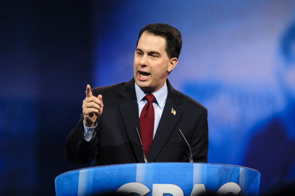 Wisconsin Gov. Scott Walker speaks at the 2013 Conservative Political Action Conference (CPAC) March 16, 2013 in National Harbor, Maryland.