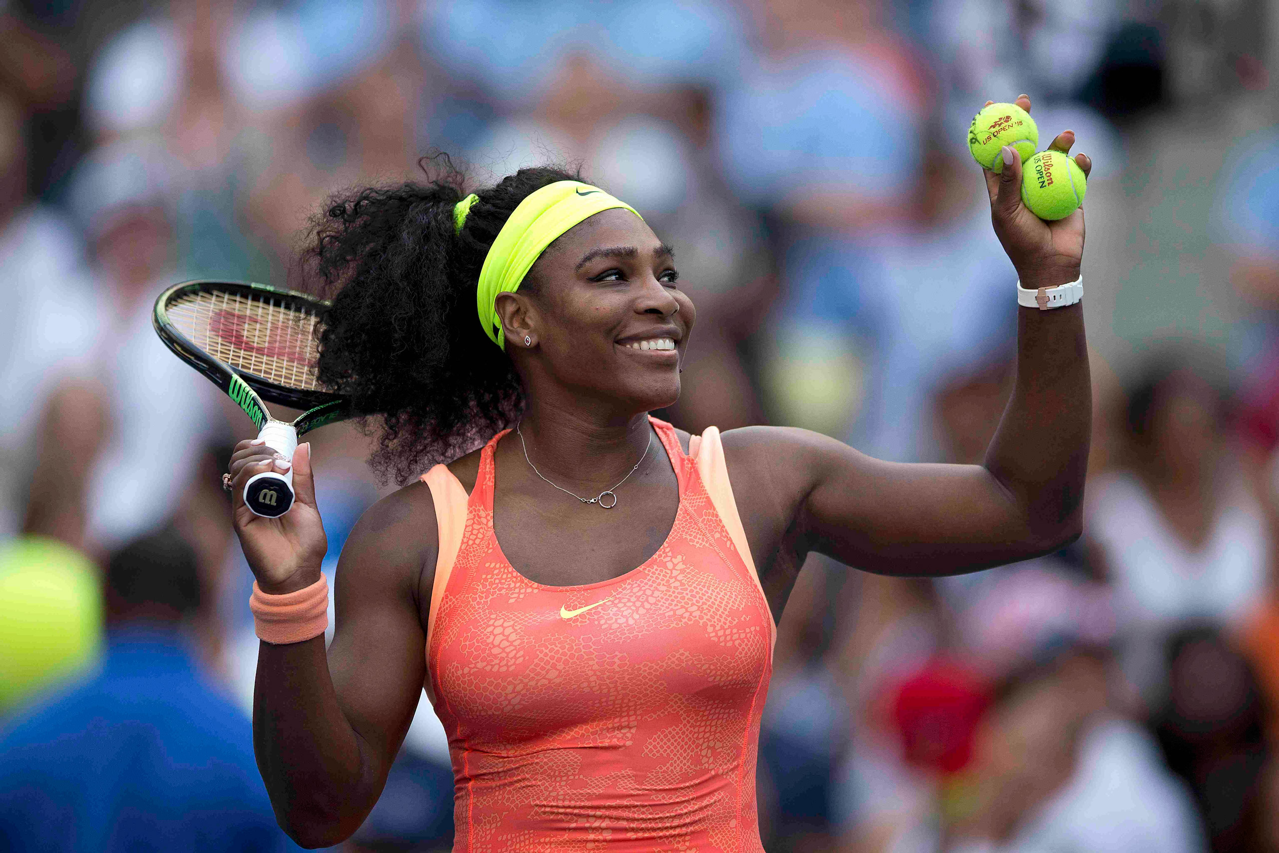 Serena Williams Play Mobile Snapchat Tennis Game Time