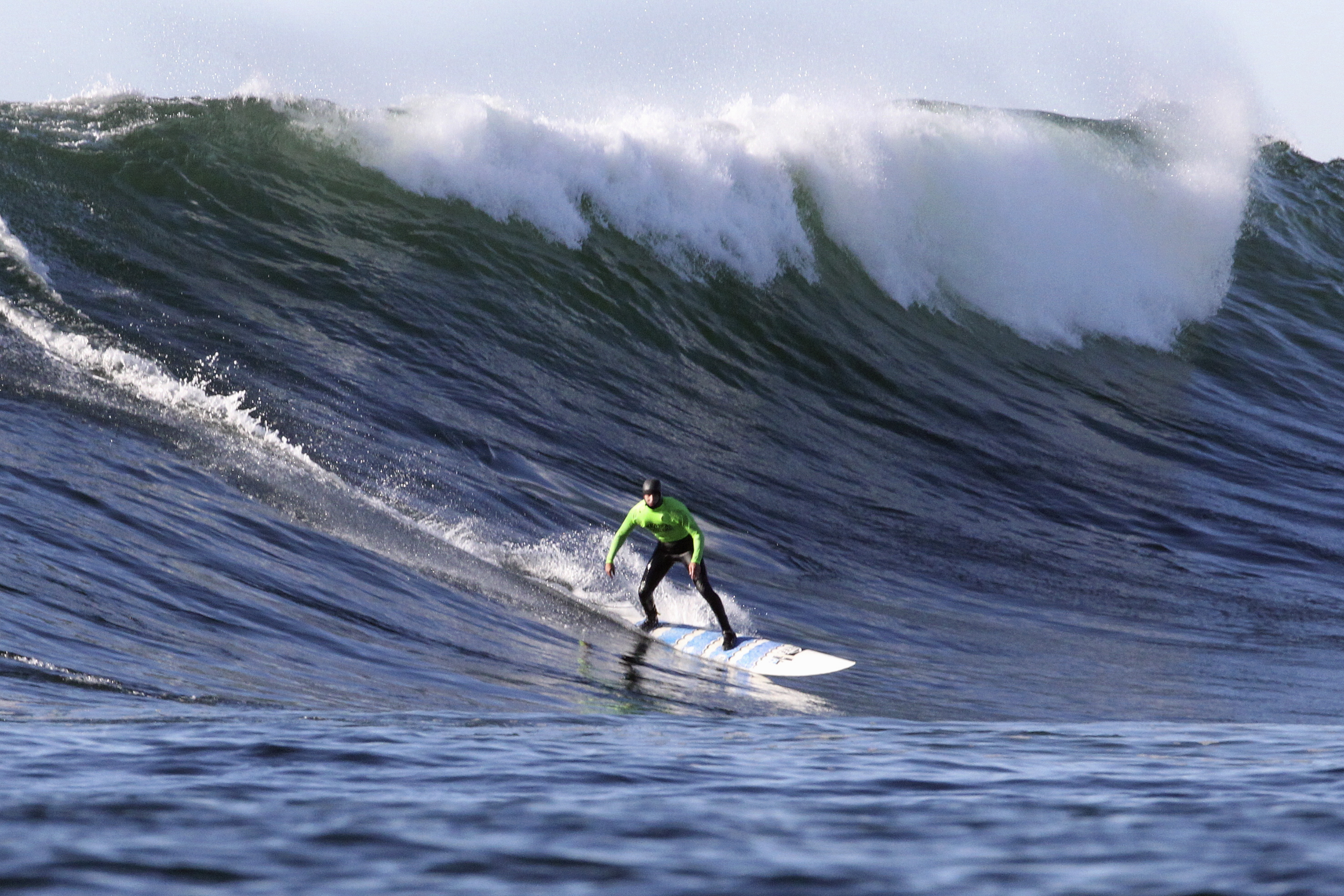 Santa Cruz surfer Shawn Dollar broke his neck surfing on the California coast Sept. 9.