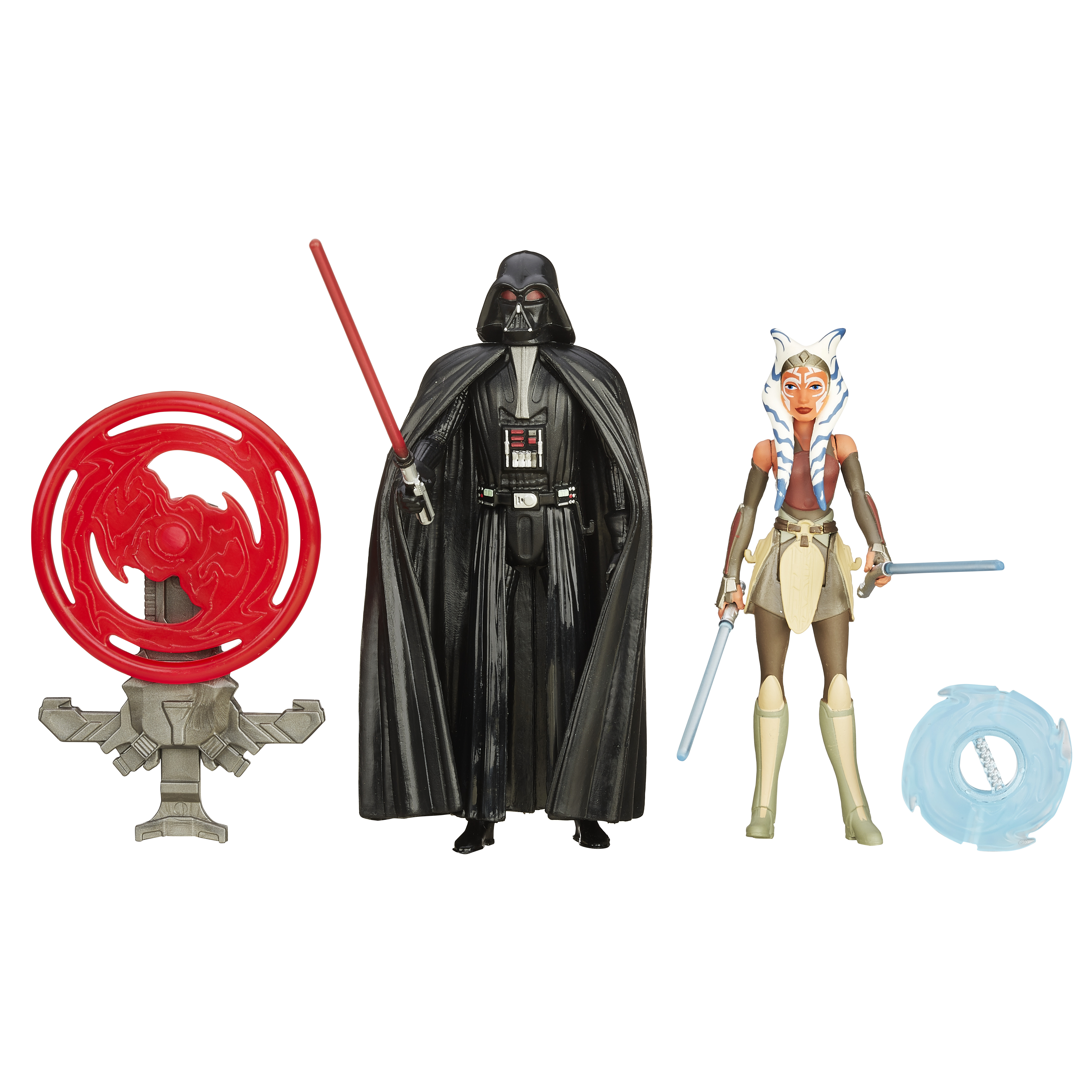 <b>Star Wars <i>The Force Awakens</i></b>; Darth Vader and Ahsoka Tano