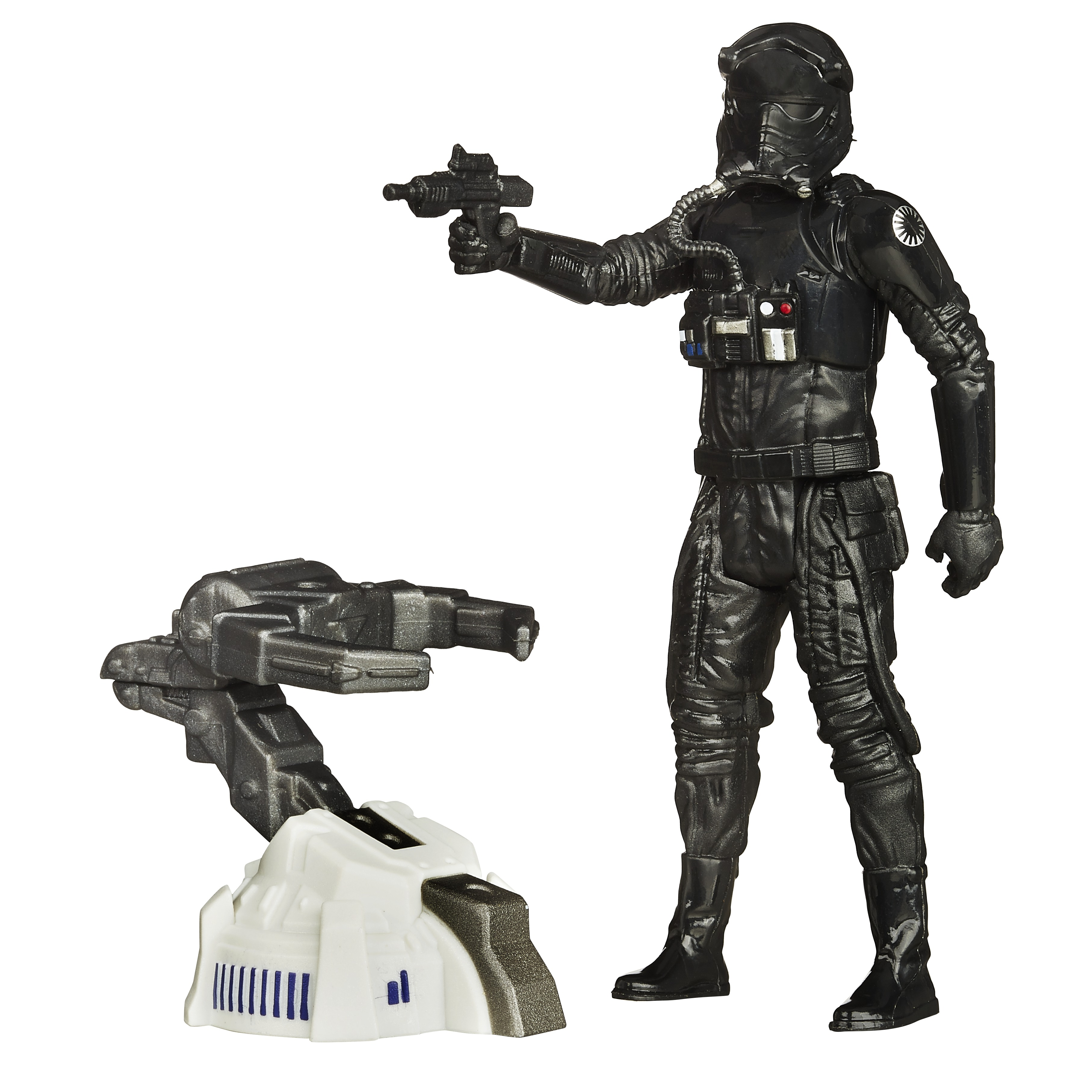 <b>Star Wars <i>The Force Awakens</i> Build a Weapon</b>; Tie Fighter Pilot