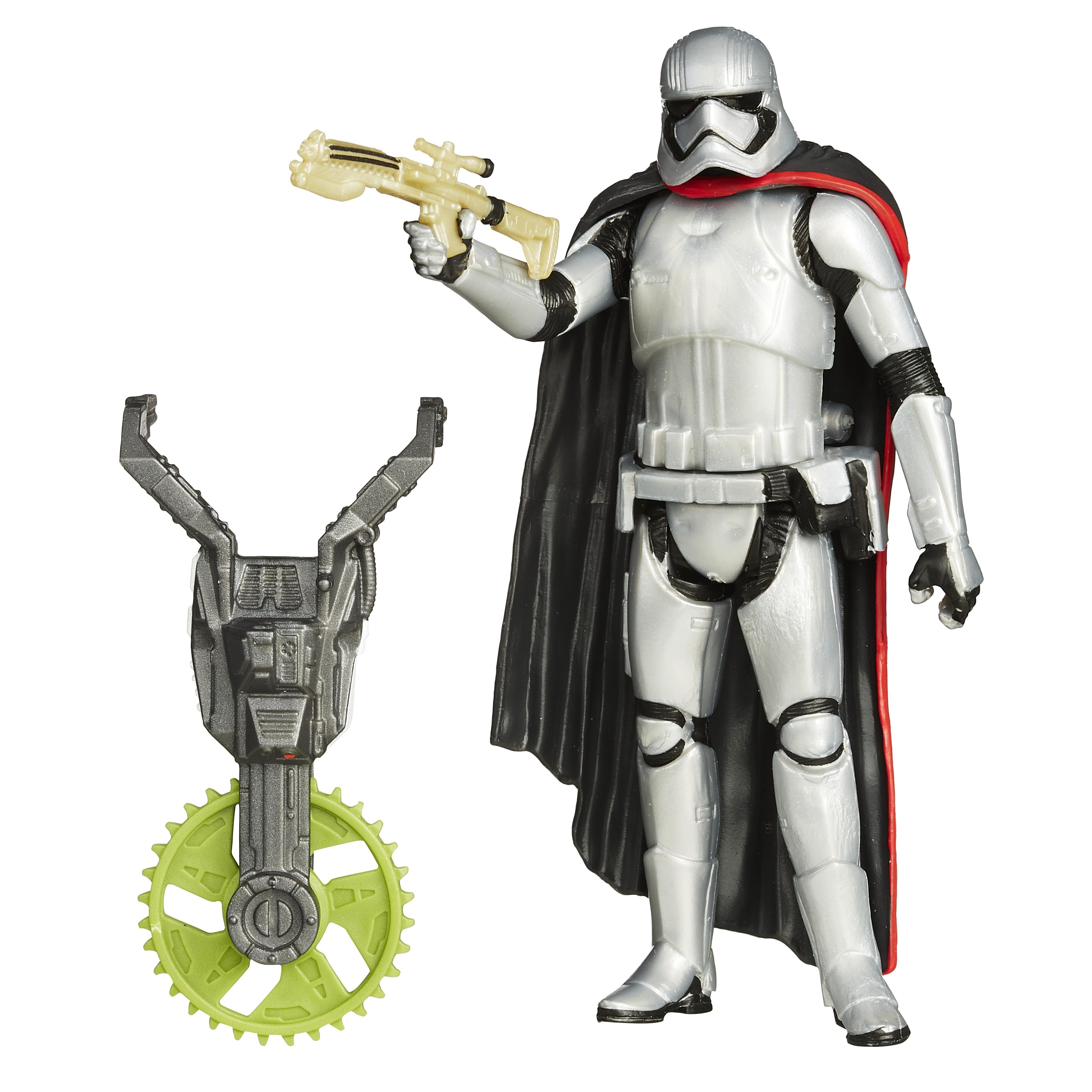<b>Star Wars <i>The Force Awakens</i> Build a Weapon</b>; Capt. Phasma