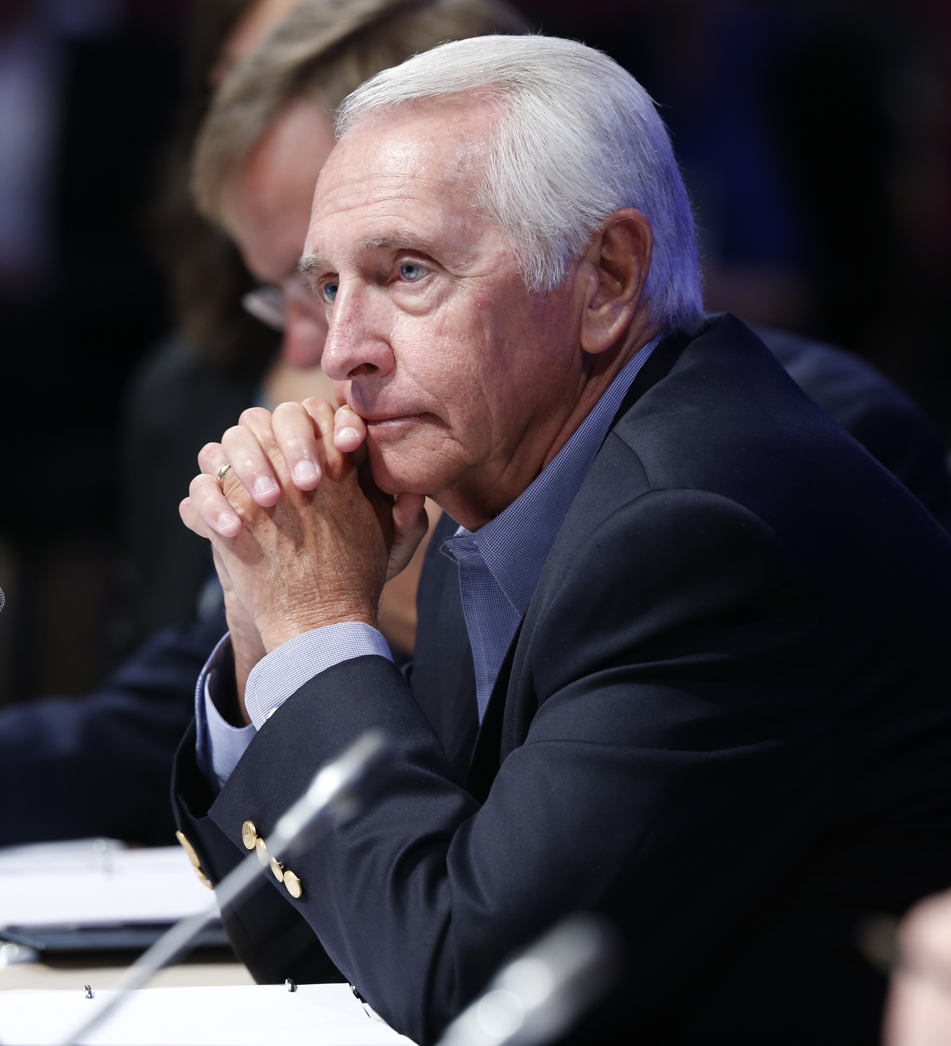 Gov. Steve Beshear during a meeting of the Joint Committee session at the National Governors Association summer meeting on  July 25, 2015.