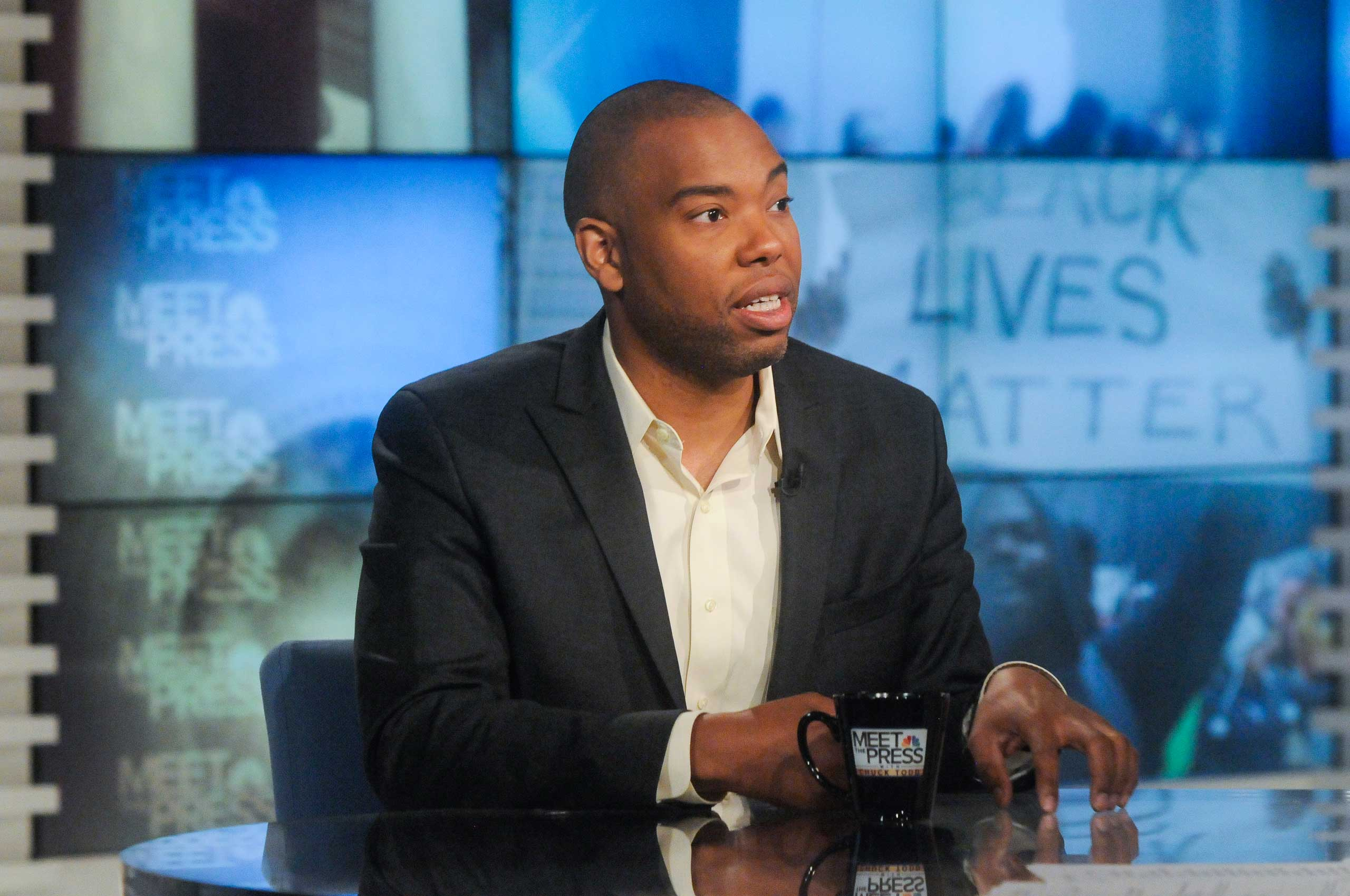 Ta-Nehisi Coates, National Correspondent for The Atlantic and author of  Between the World and Me  appears on  Meet the Press  in Washington, D.C., July 5, 2015.