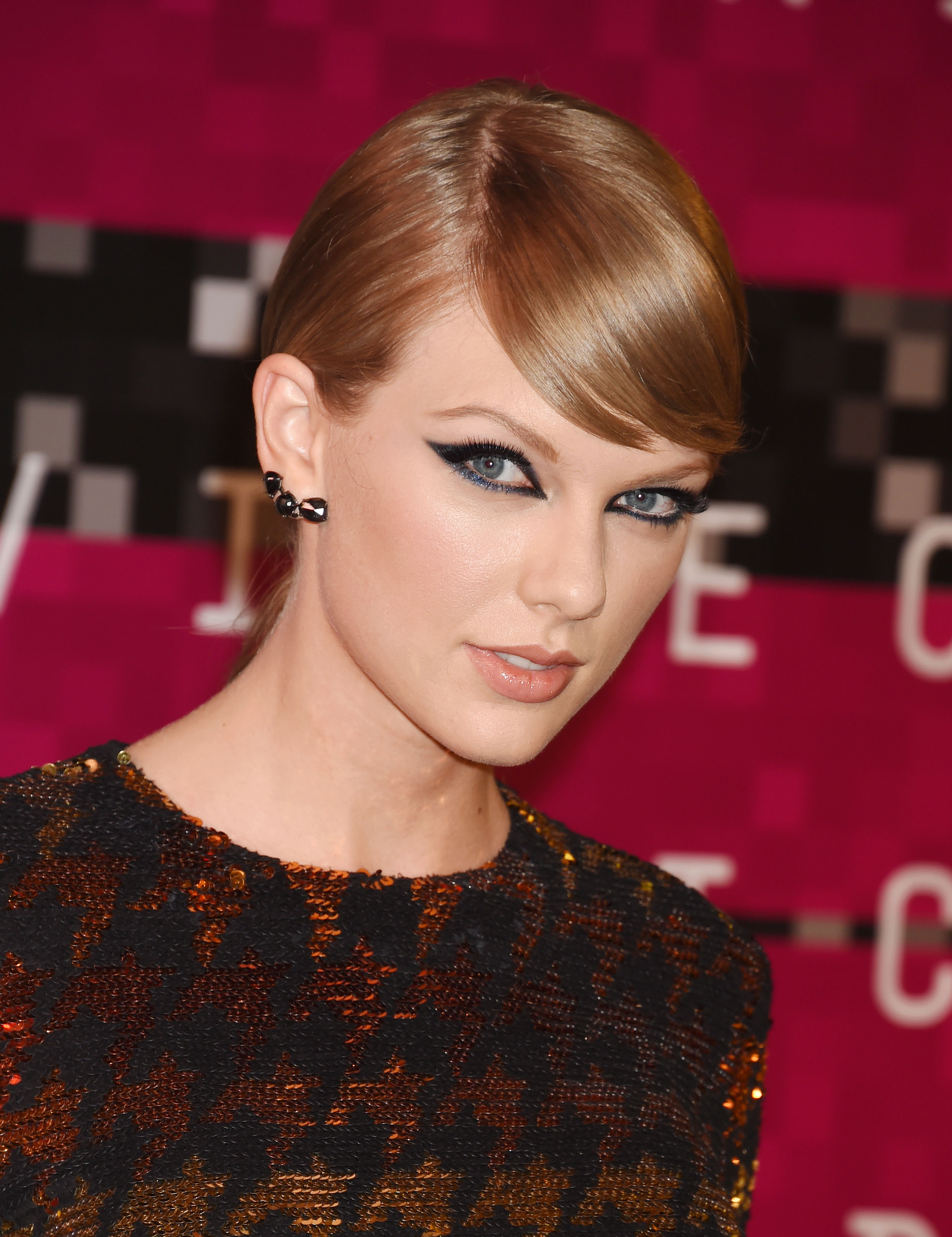 Taylor Swift at the 2015 MTV Video Music Awards in Los Angeles on Aug. 30, 2015.