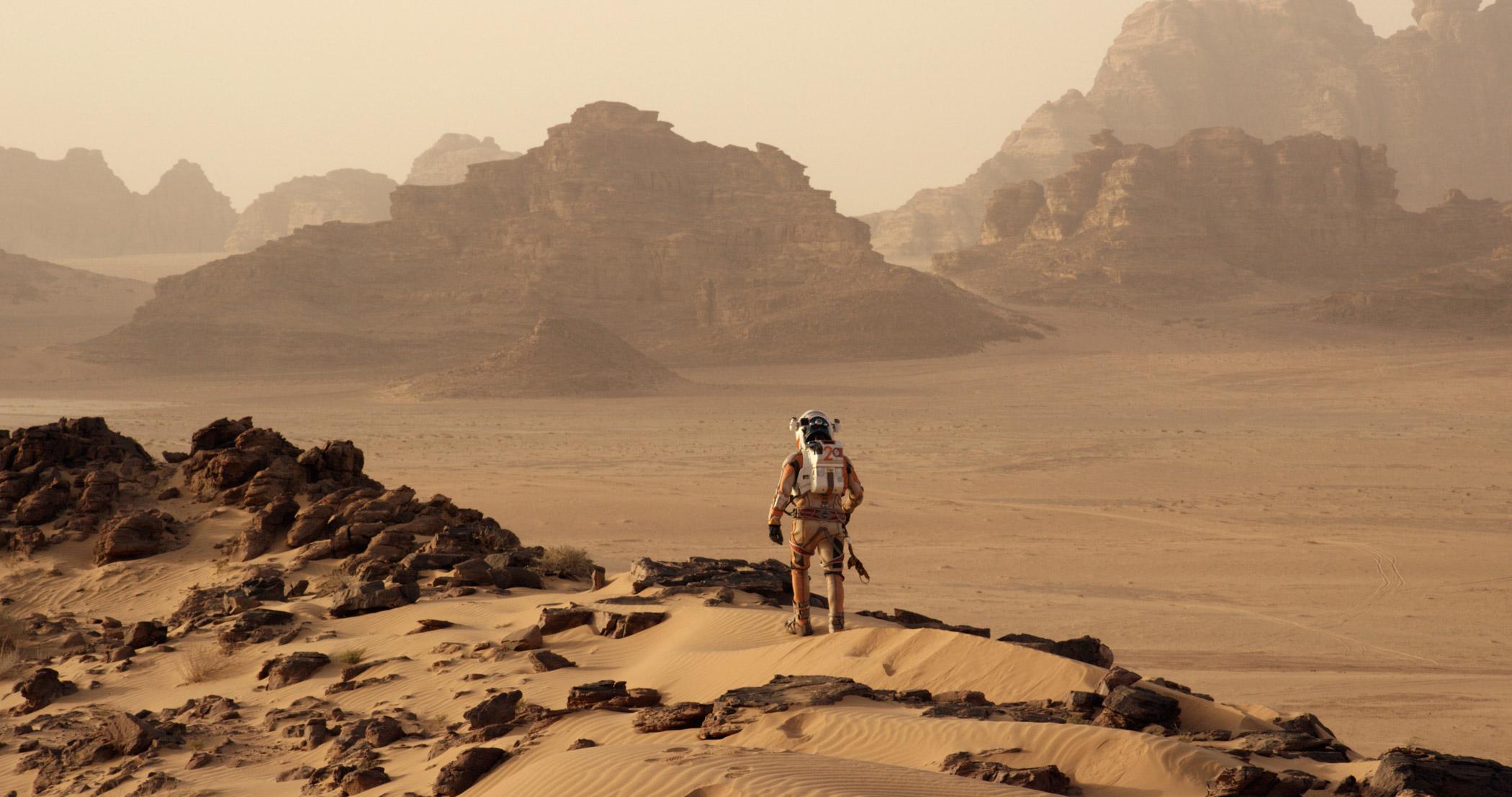'The Martian', 2015