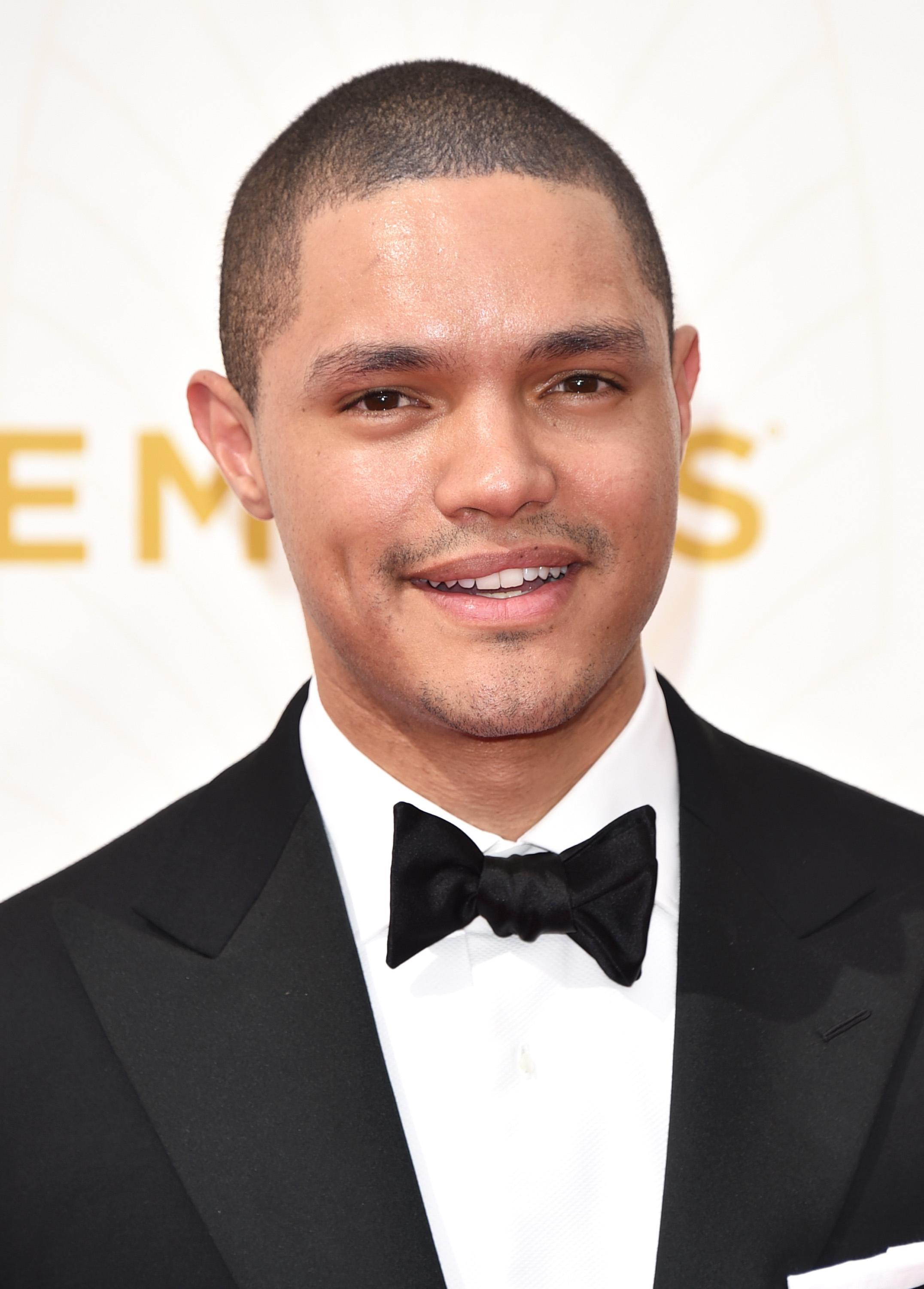 Trevor Noah at the 67th Annual Primetime Emmy Awards in Los Angeles on Sept. 20, 2015.