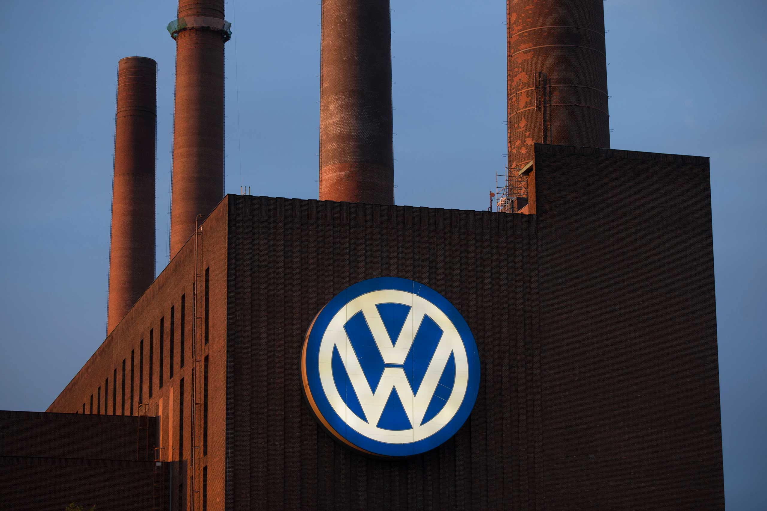 General view of the Volkswagen power plant in Wolfsburg, Germany Sept. 22, 2015.