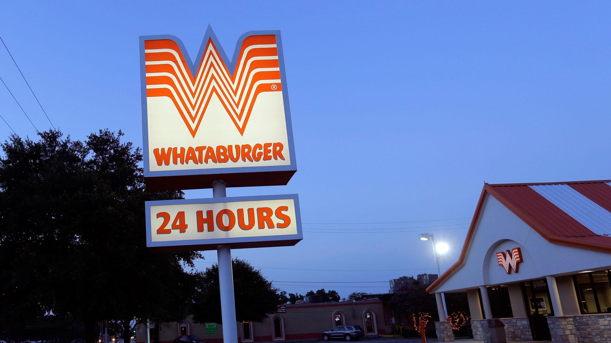Whataburger on July 9, 2015 in San Antonio.