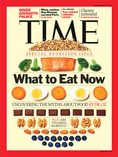 The Sep. 12, 2011, cover of TIME