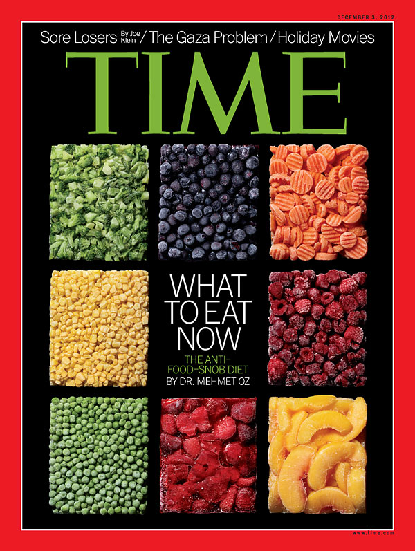 The Dec. 3, 2012, cover of TIME