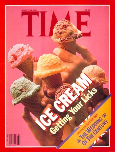 The  Aug. 10, 1981, cover of TIME