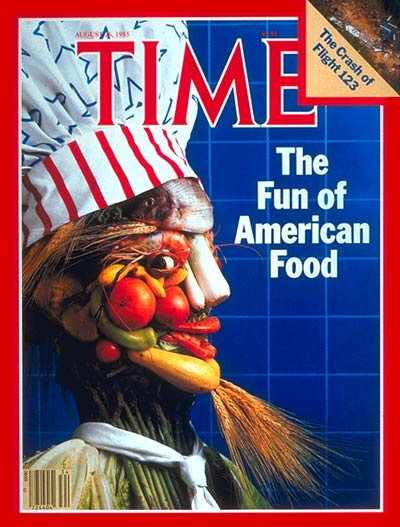 The  Aug. 26, 1985, cover of TIME