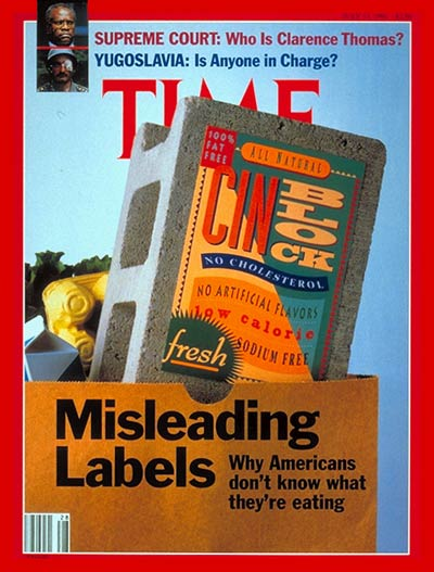 The  July 15, 1991, cover of TIME