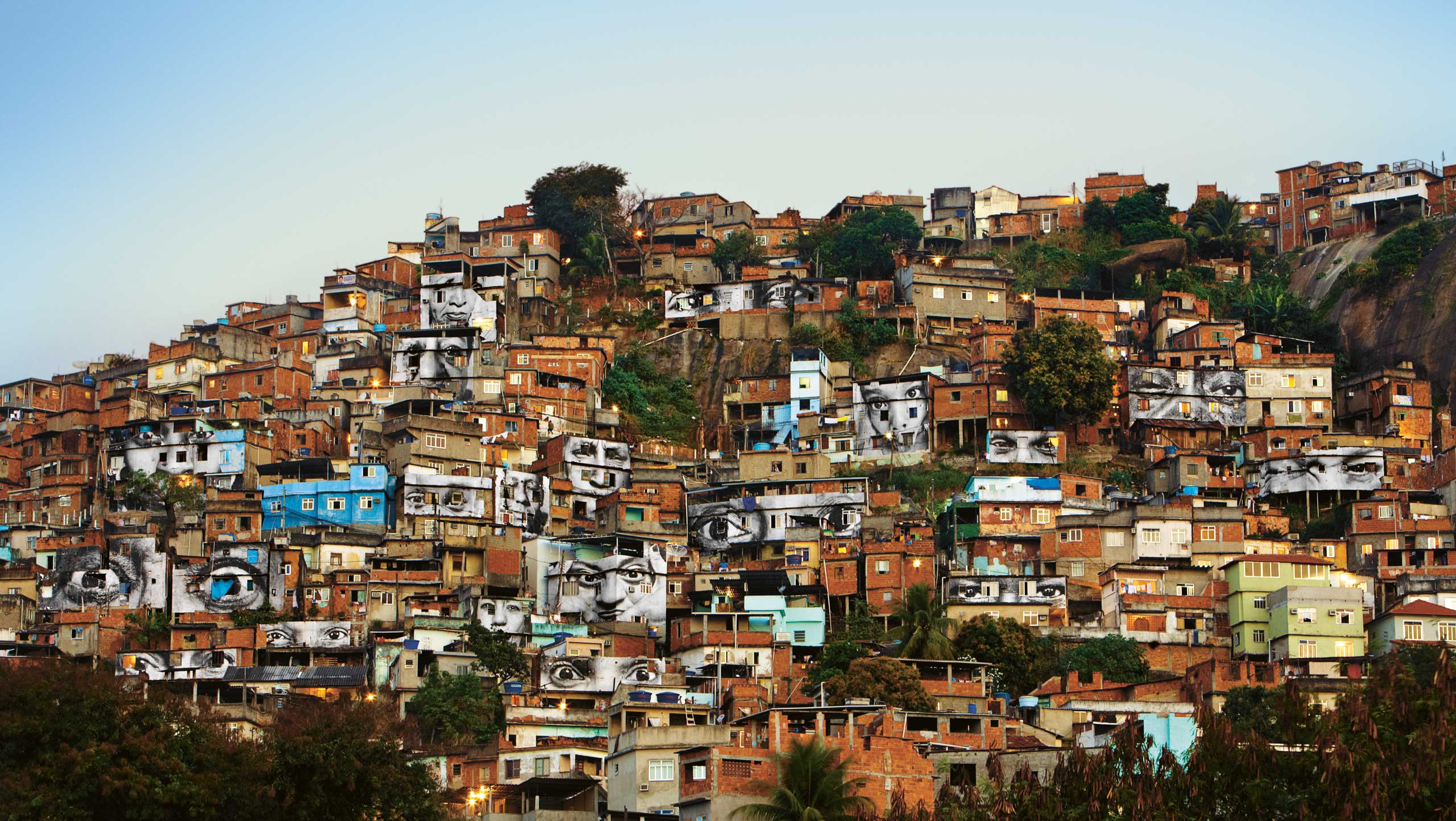 Women are Heroes: Morro da Providência favela, Rio de Janeiro, Brazil, 2008.