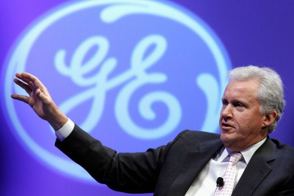 GE's CEO Jeff Immelt.