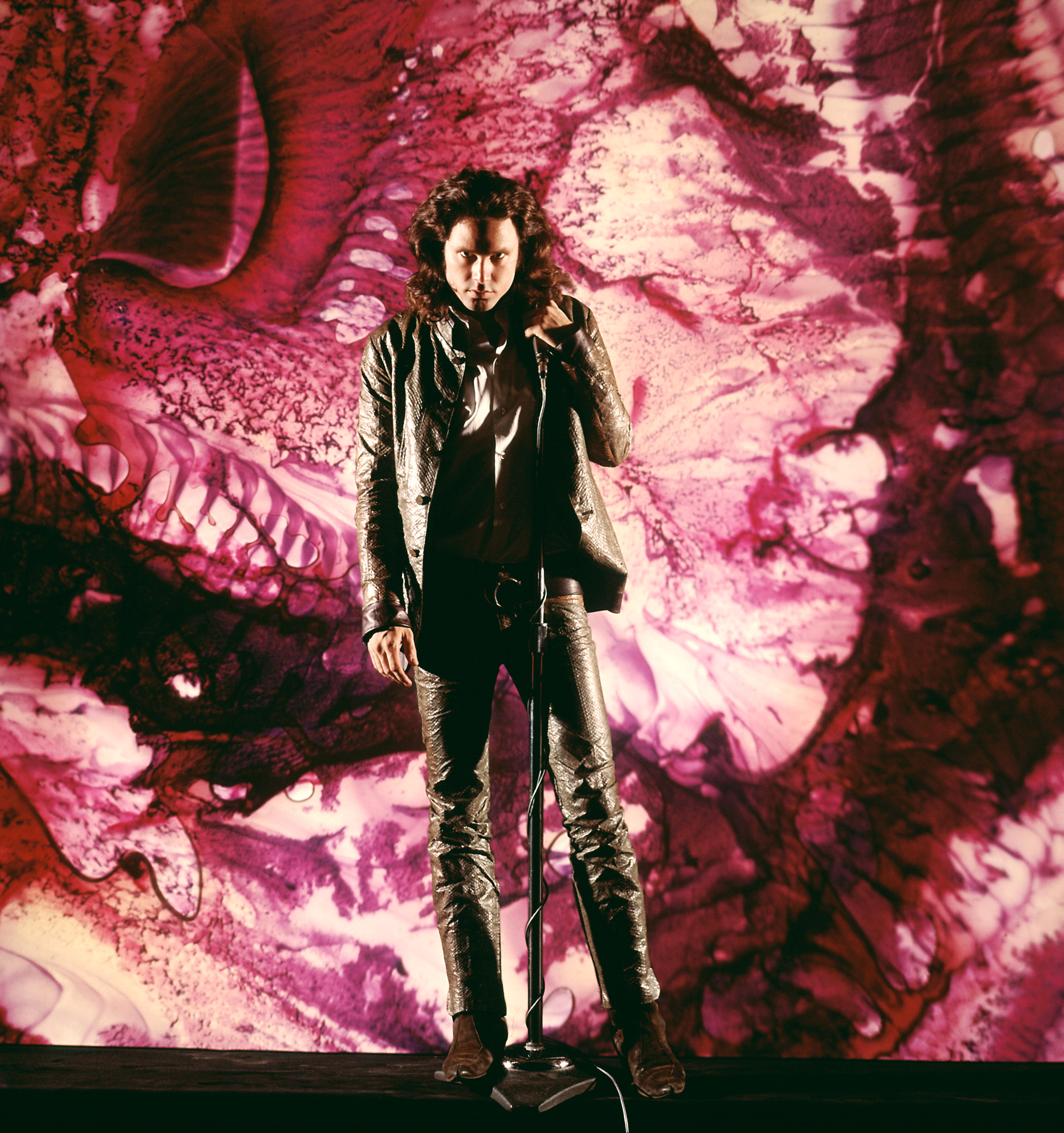 """Grow out your locks and wear all the leather to dress as """"Lizard King"""" Jim Morrison in 1968."""