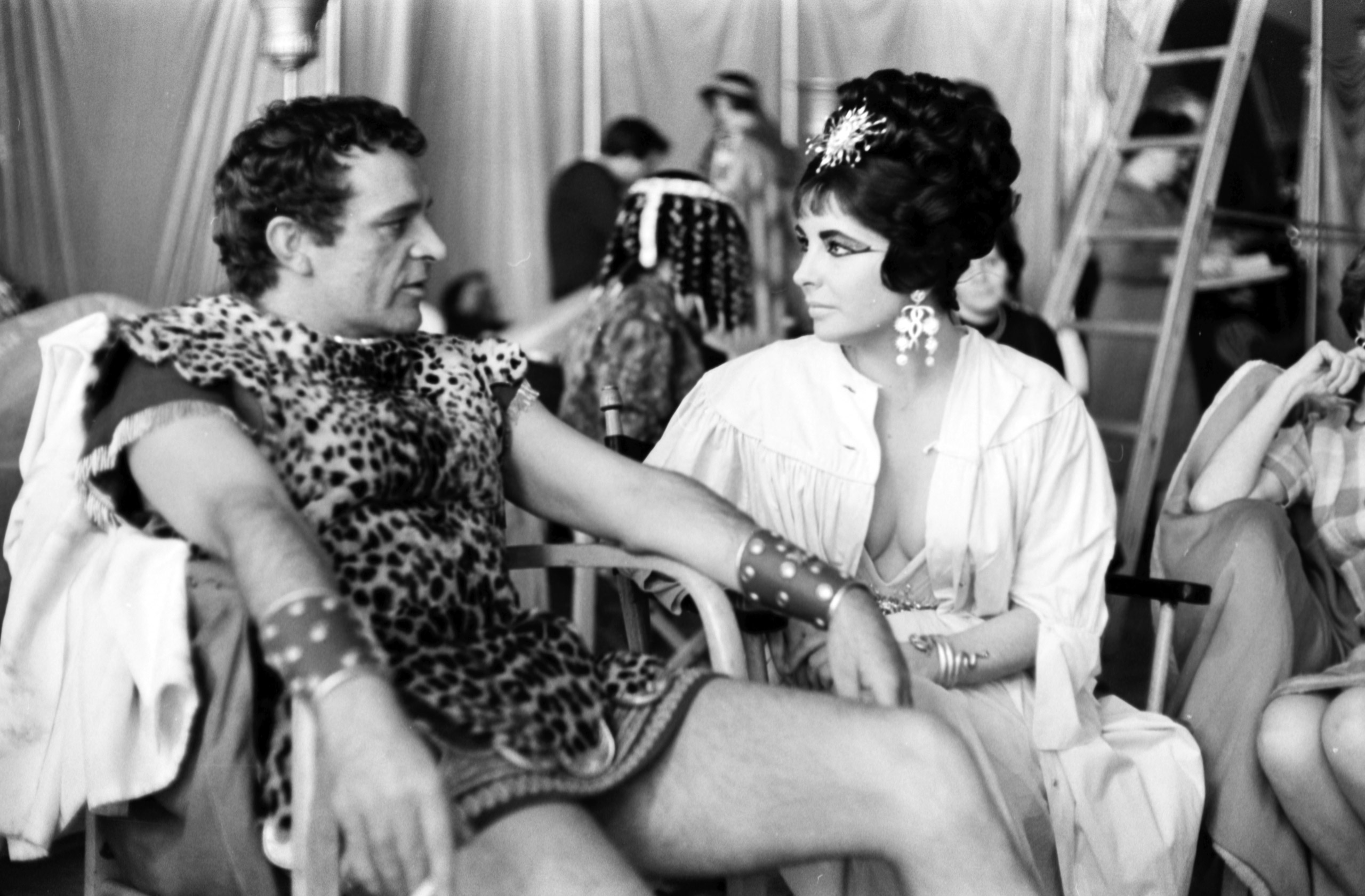Go as one of Hollywood's most famous couples dressed as one of history's most famous couples: Richard Burton and Elizabeth Taylor as Mark Antony and Cleopatra (1962).