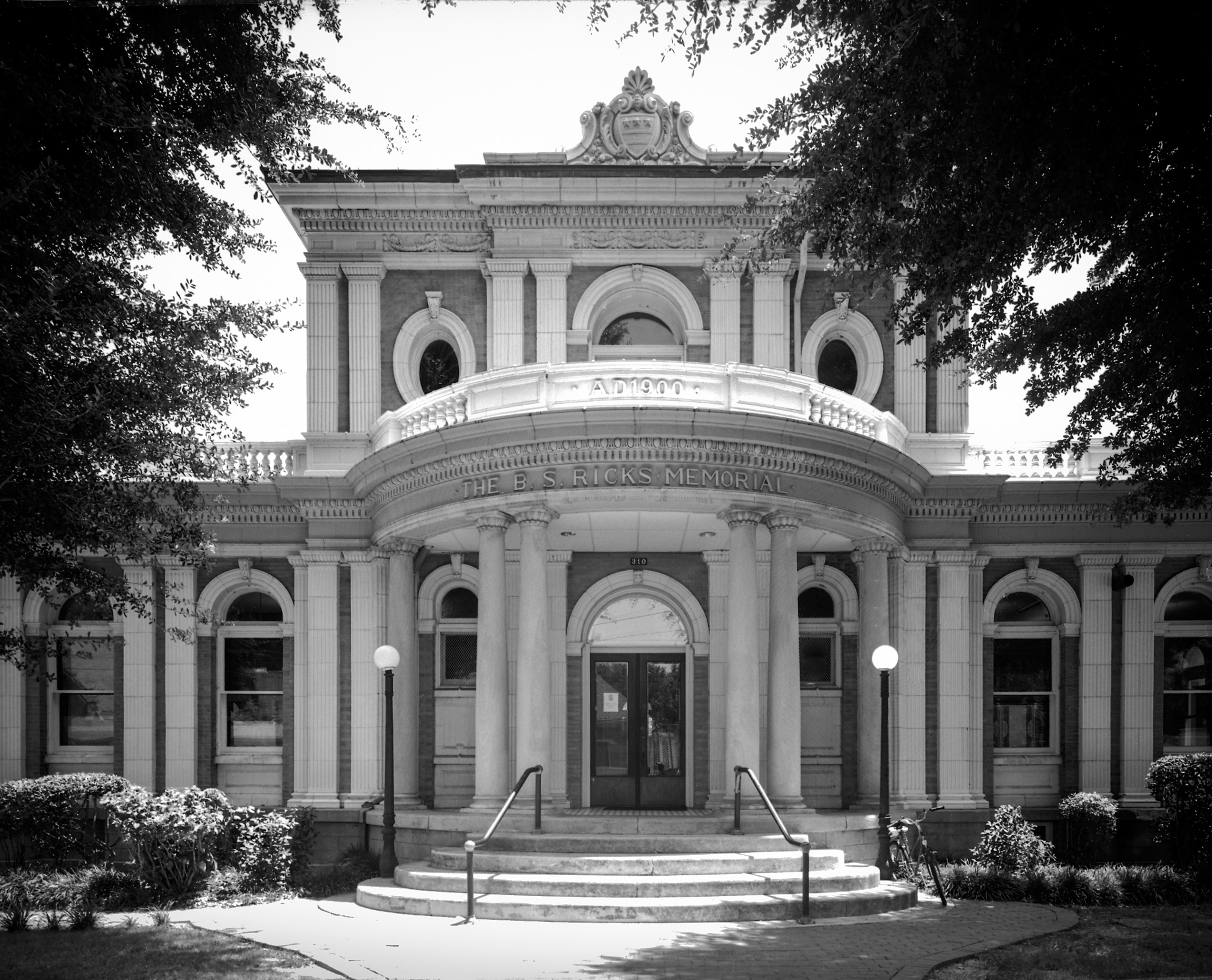 B.S. Ricks Memorial Library, Yazoo City, MS 2011. Founded in 1838, this library was dedicated a Literary Landmark in recognition of Willie Morris (1934-1999), a journalist, editor, author, and renowned Mississippian.