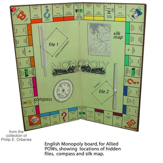 World War II Waddington's Monopoly Game
