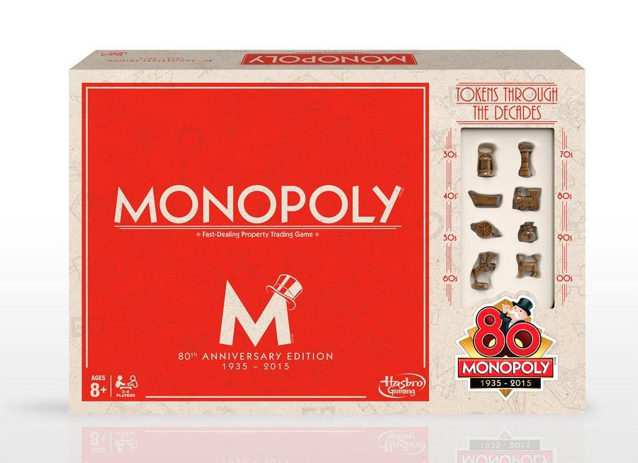 Monopoly 80th Anniversary Edition