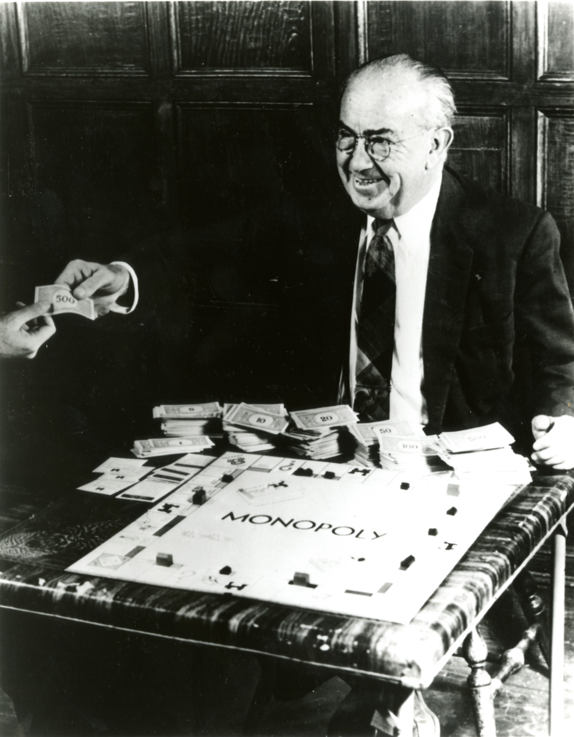 Charles Darrow, inventor of the Monopoly board game.