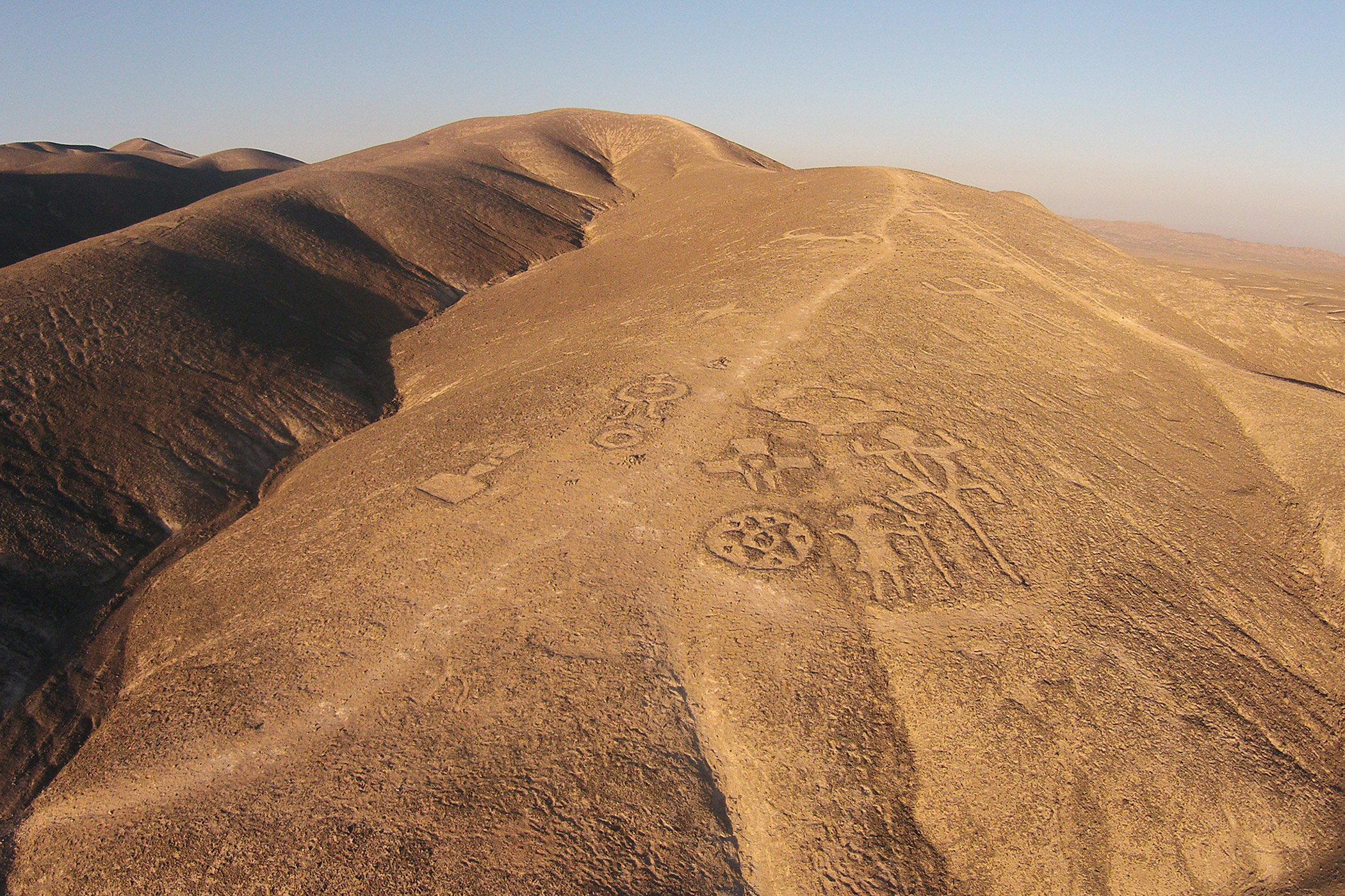 Chile, Chug-Chug                               Geoglyphs: The thousand-year-old geoglyphs depend on the establishment of an archaeological park to protect, preserve, and interpret the site.