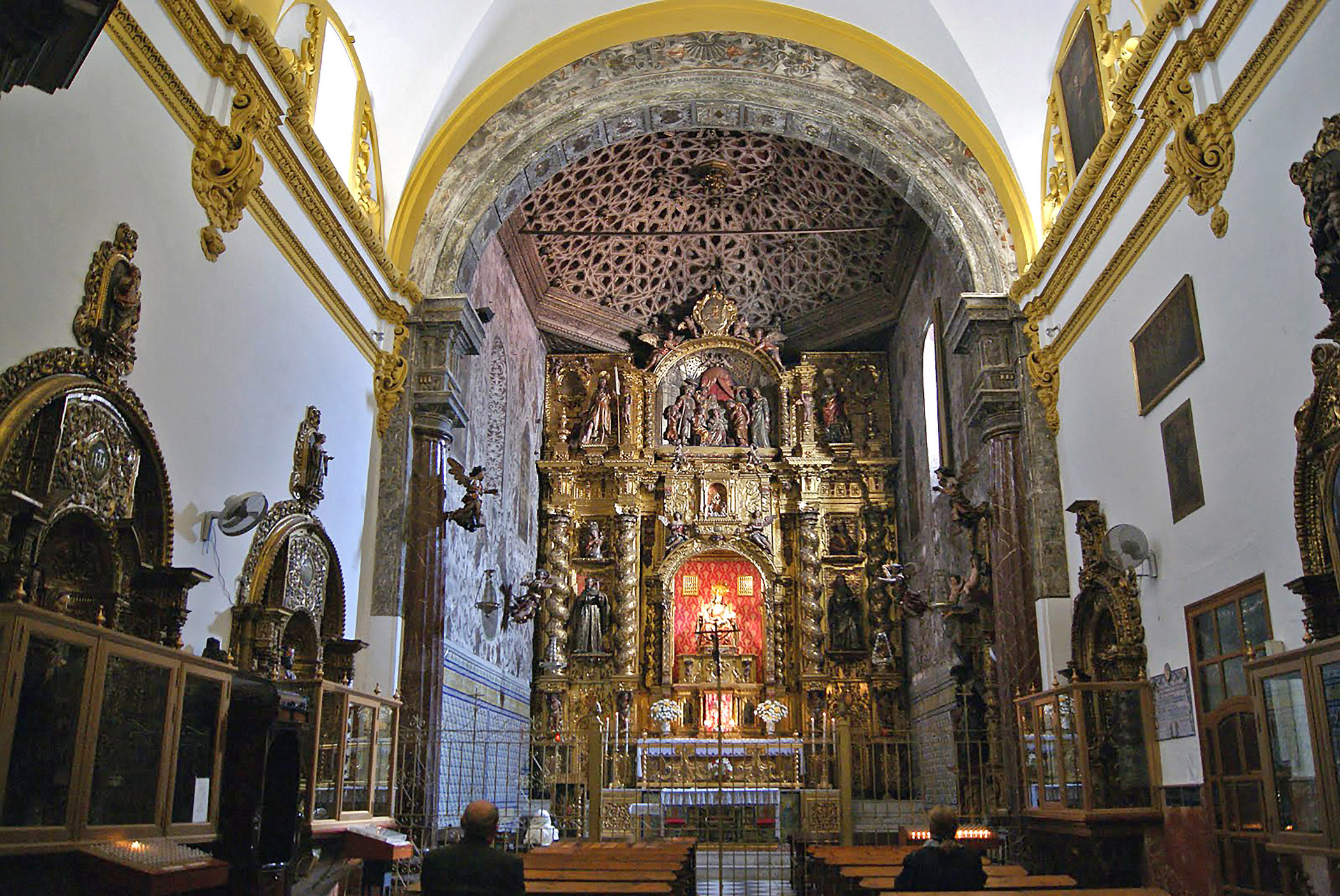 Spain, Convents of                               Seville: The dwindling monastic vocation poses a serious challenge to the future of Seville's remaining cloistered convents.