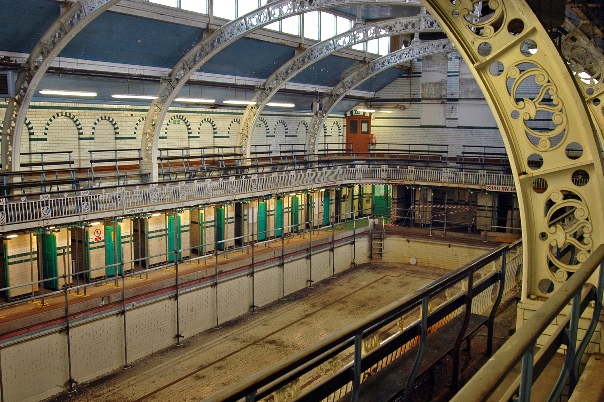 United Kingdom, Moseley Road Baths: An Edwardian time capsule, the baths are still in use and serving a diverse urban community, is now at risk of closure due to cutbacks in government spending