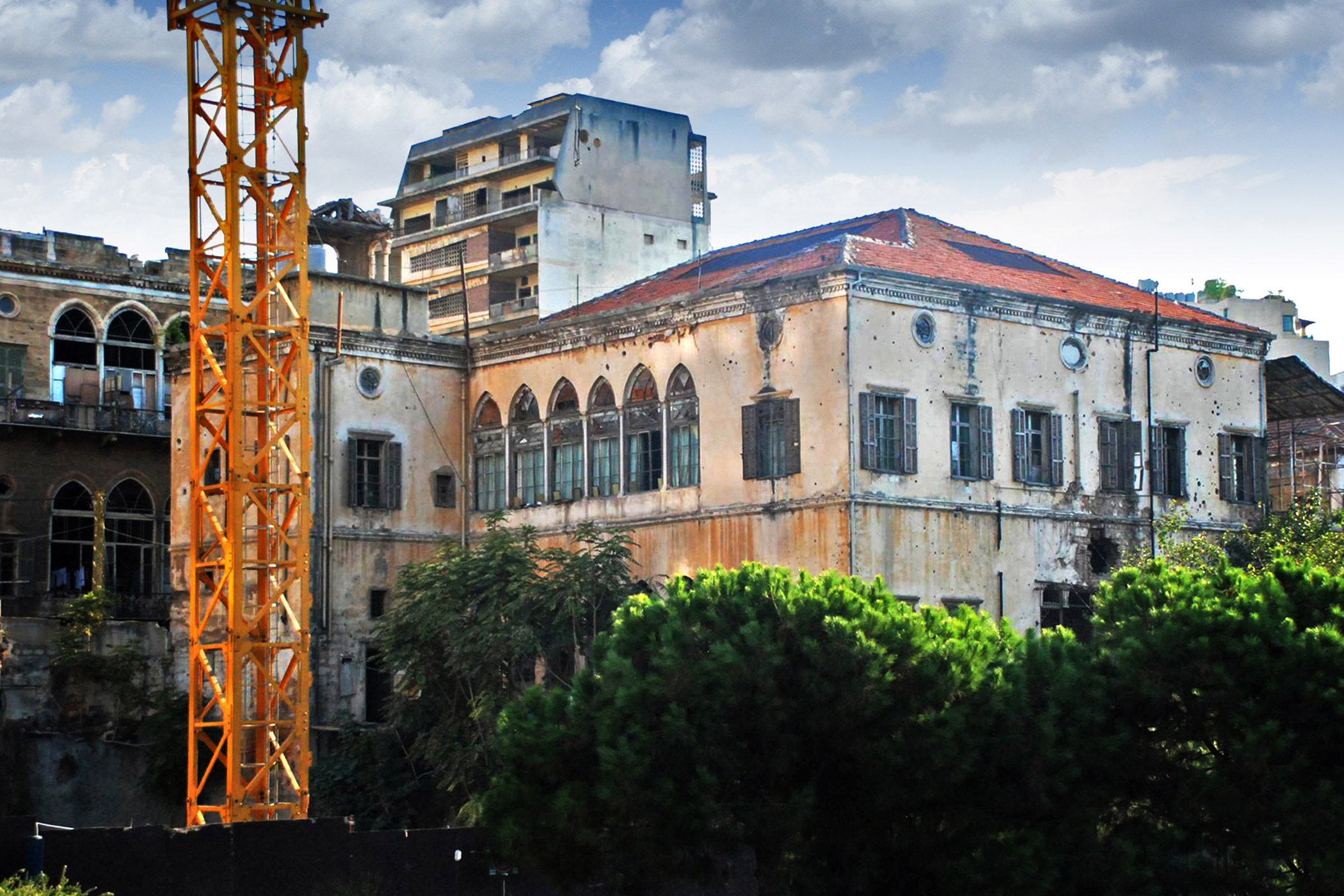 Lebanon, Heneine                               Palace: is a landmark of Beirut that deserves to be preserved and put into public use so that it can be enjoyed by all, but instead it is at risk of being torn down and lost forever.