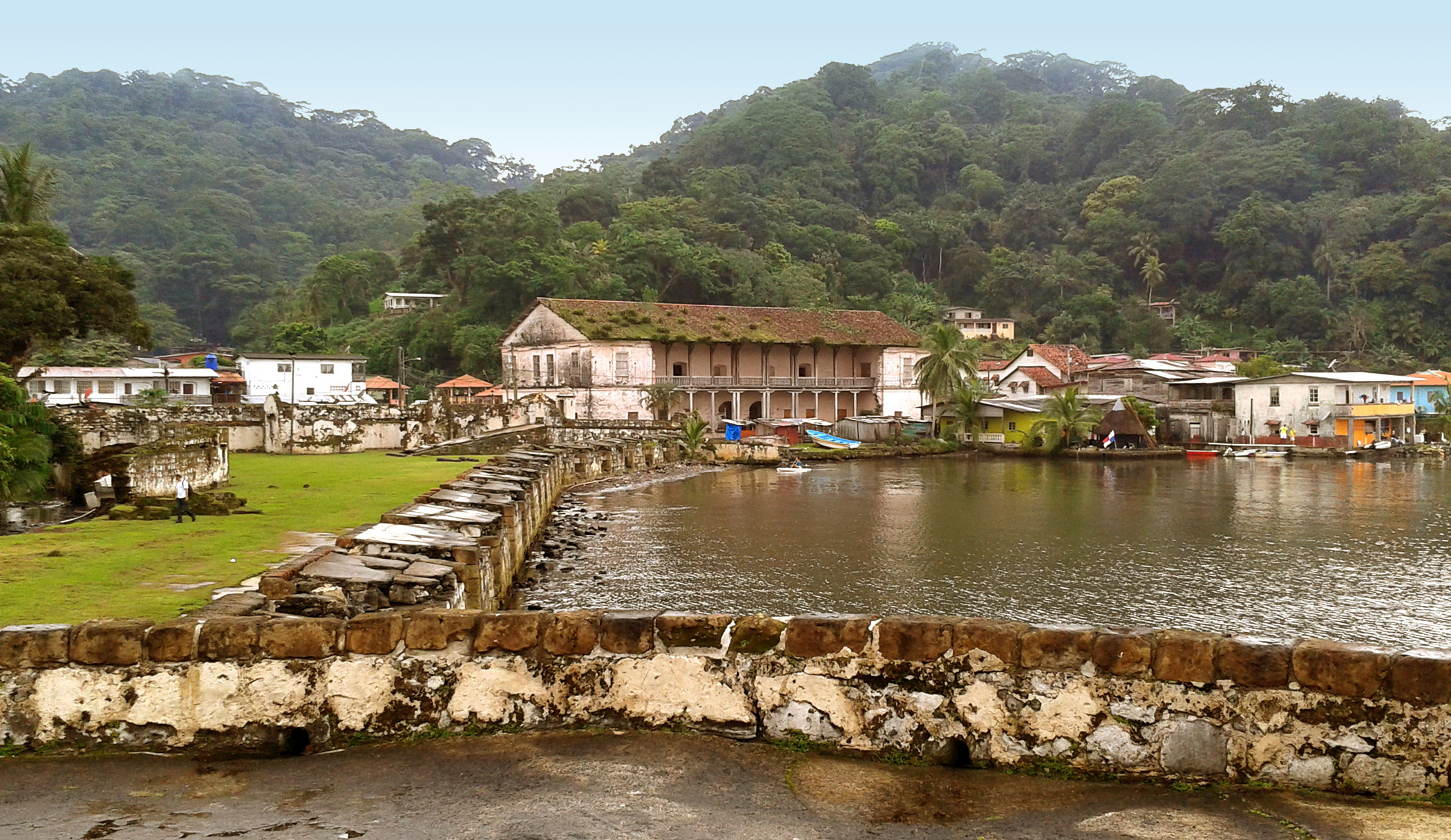Panama, Fortifications                               of Portobelo: The Fortifications of Portobelo need better management to reverse the effects of prolonged lack of maintenance and to mitigate the challenges of urban encroachment and an adverse environment.