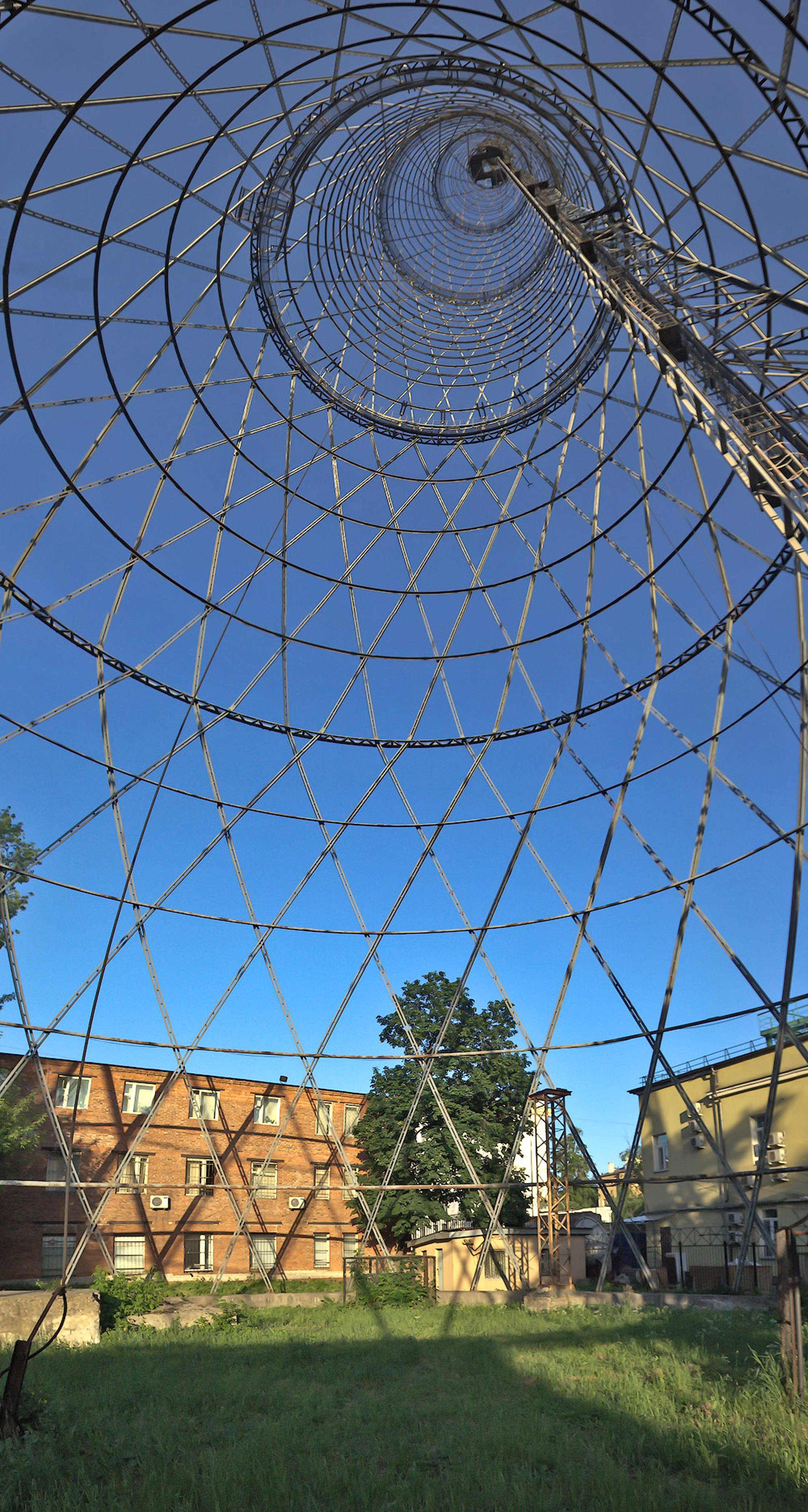 Russia, Shukhov Tower: Ongoing vigilance is necessary to secure the future of the Shukhov Tower, an icon of the advent of modern technology and an engineering masterpiece of the early twentieth century.
