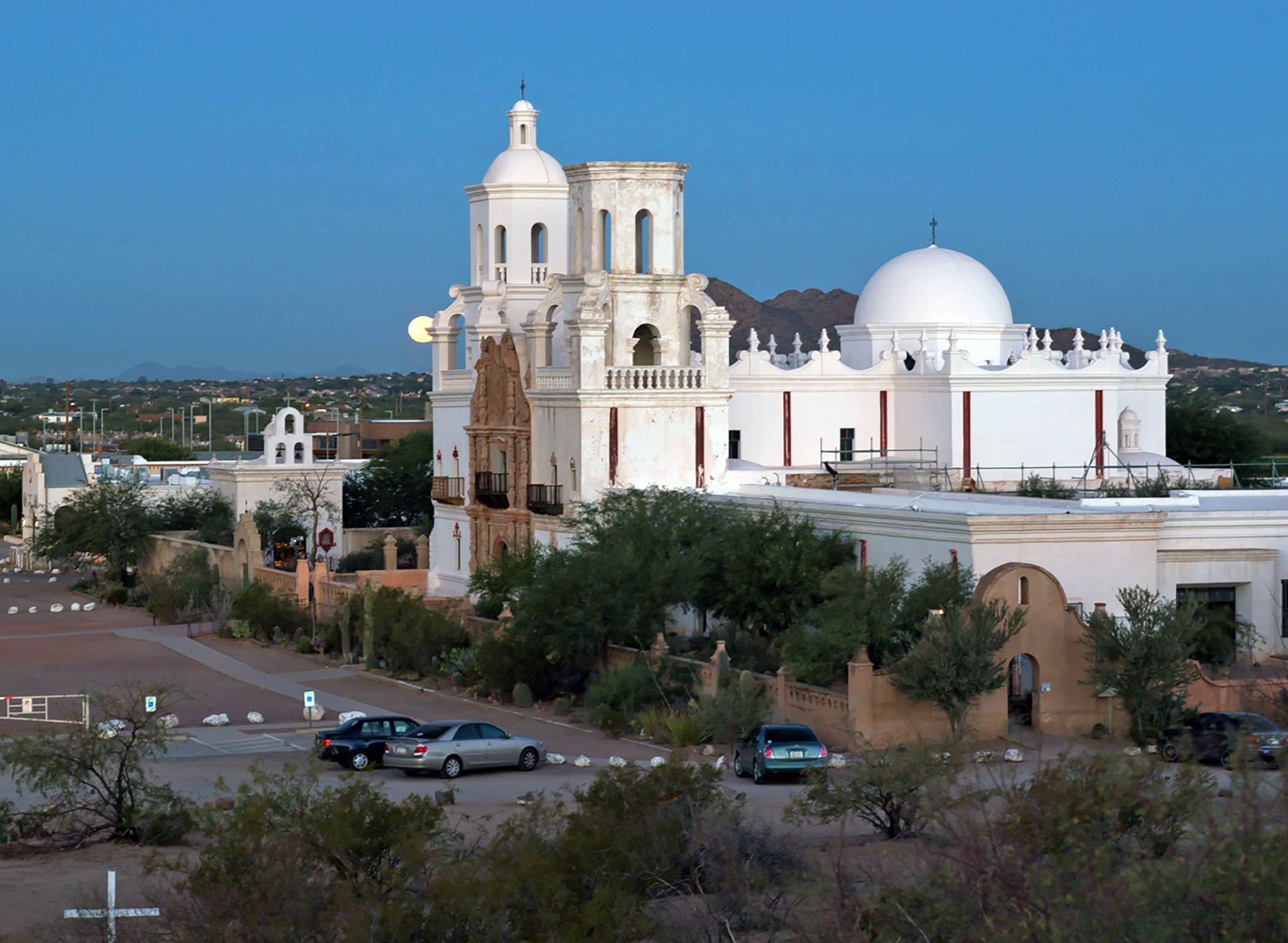 United States, Mission                               San Xavier del Bac: Because of sustained collaboration among its stakeholders, San Xavier del Bac is close to reversing the effects of past repairs, so that it may be preserved for visitors and the local O'odham nation.