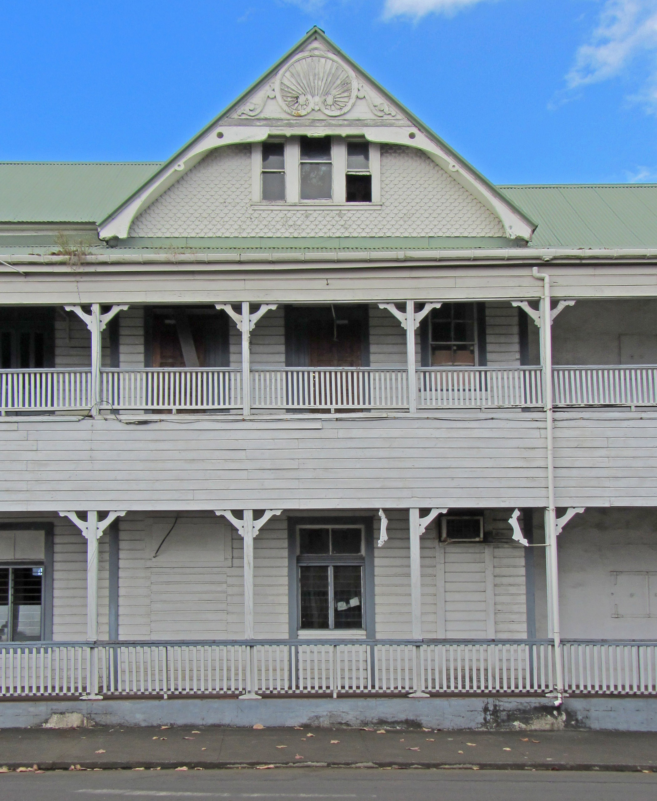 Samoa, Former Apia                               Courthouse: The Former Apia Courthouse is intimately tied to Samoa's modern history and is one of the last colonial buildings in the South Pacific, but a new use must be found for this landmark to be preserved.