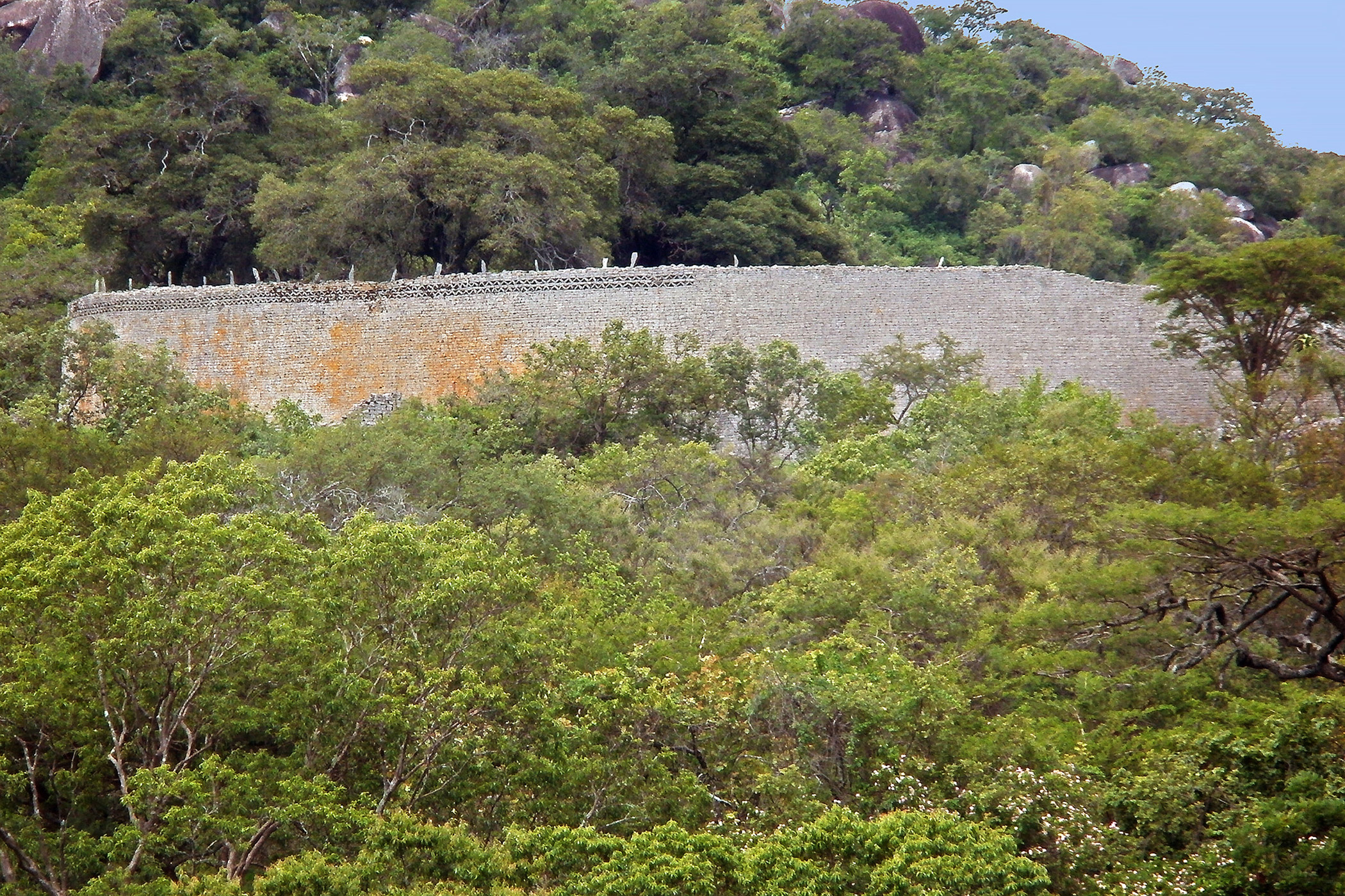 Zimbabwe, Great                               Zimbabwe: An architectural masterpiece and one of Africa's most iconic sites, Great Zimbabwe is at risk from the uncontrolled growth of vegetation and other management challenges that threaten its preservation.