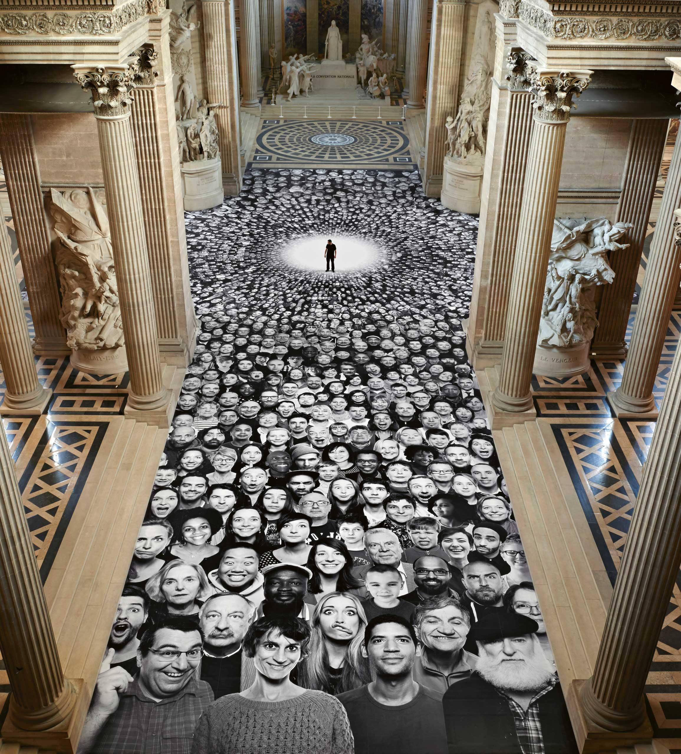 Inside Out: The nave, Pantheon, Paris, France, 2014.