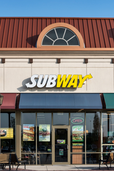 Subway Sandwiches fast food store