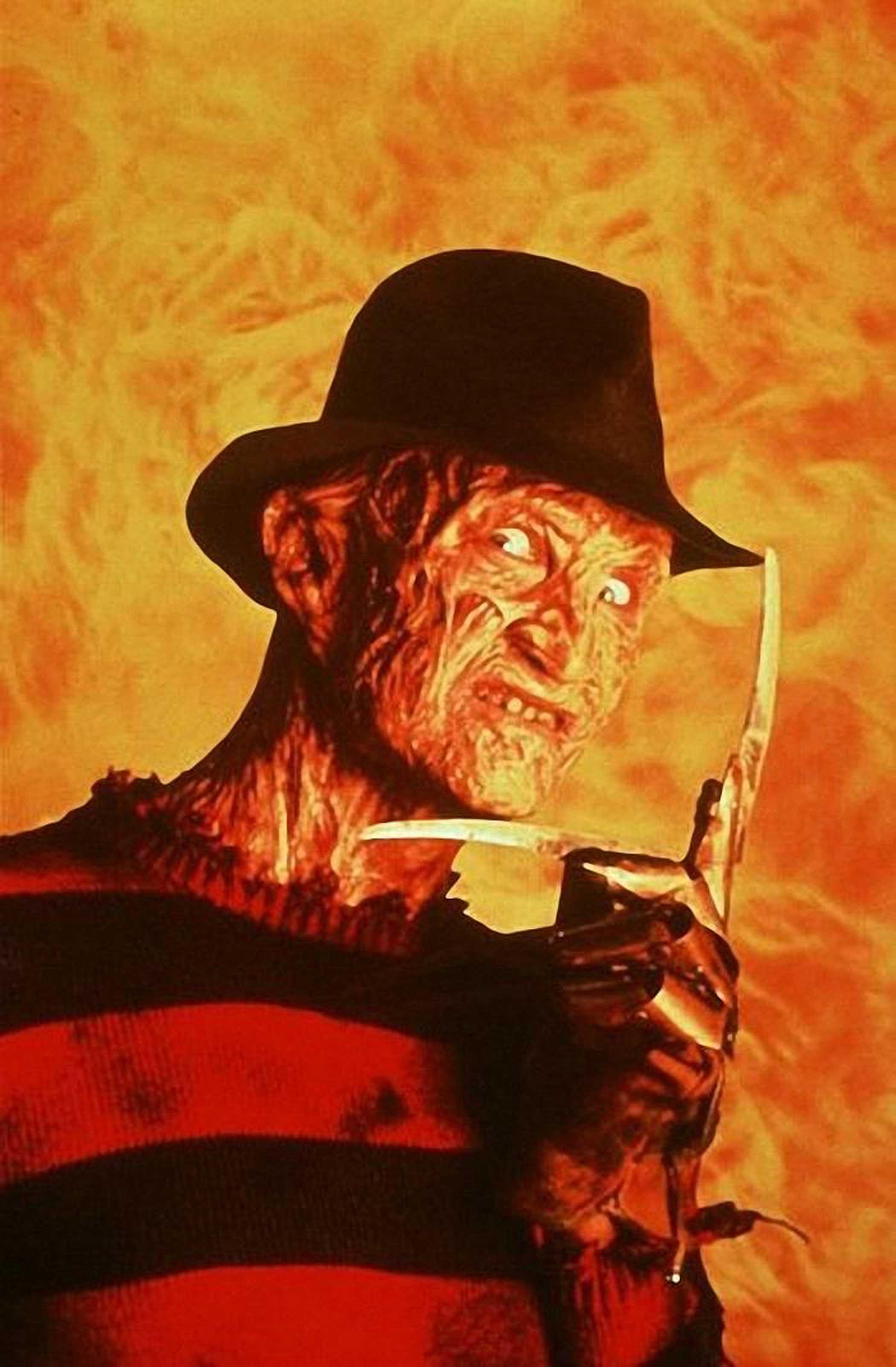 Freddy Krueger from A Nightmare on Elm Street, 1984.